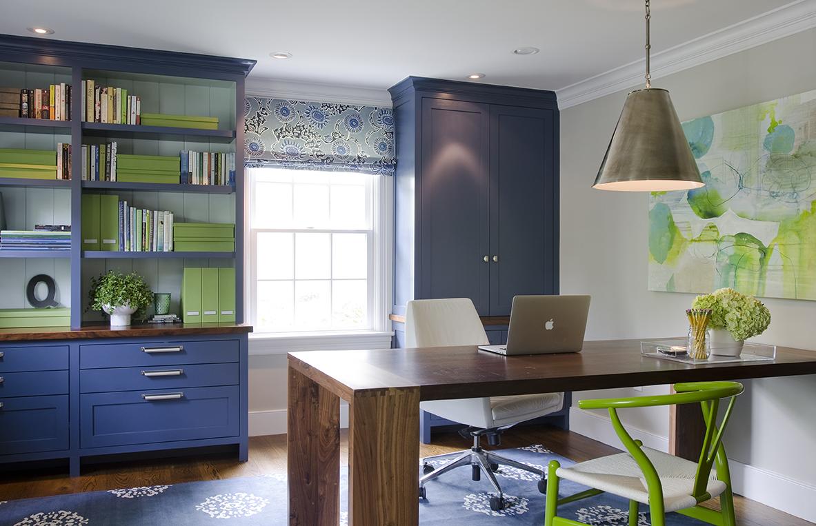 Office design by Kristina Crestin Design