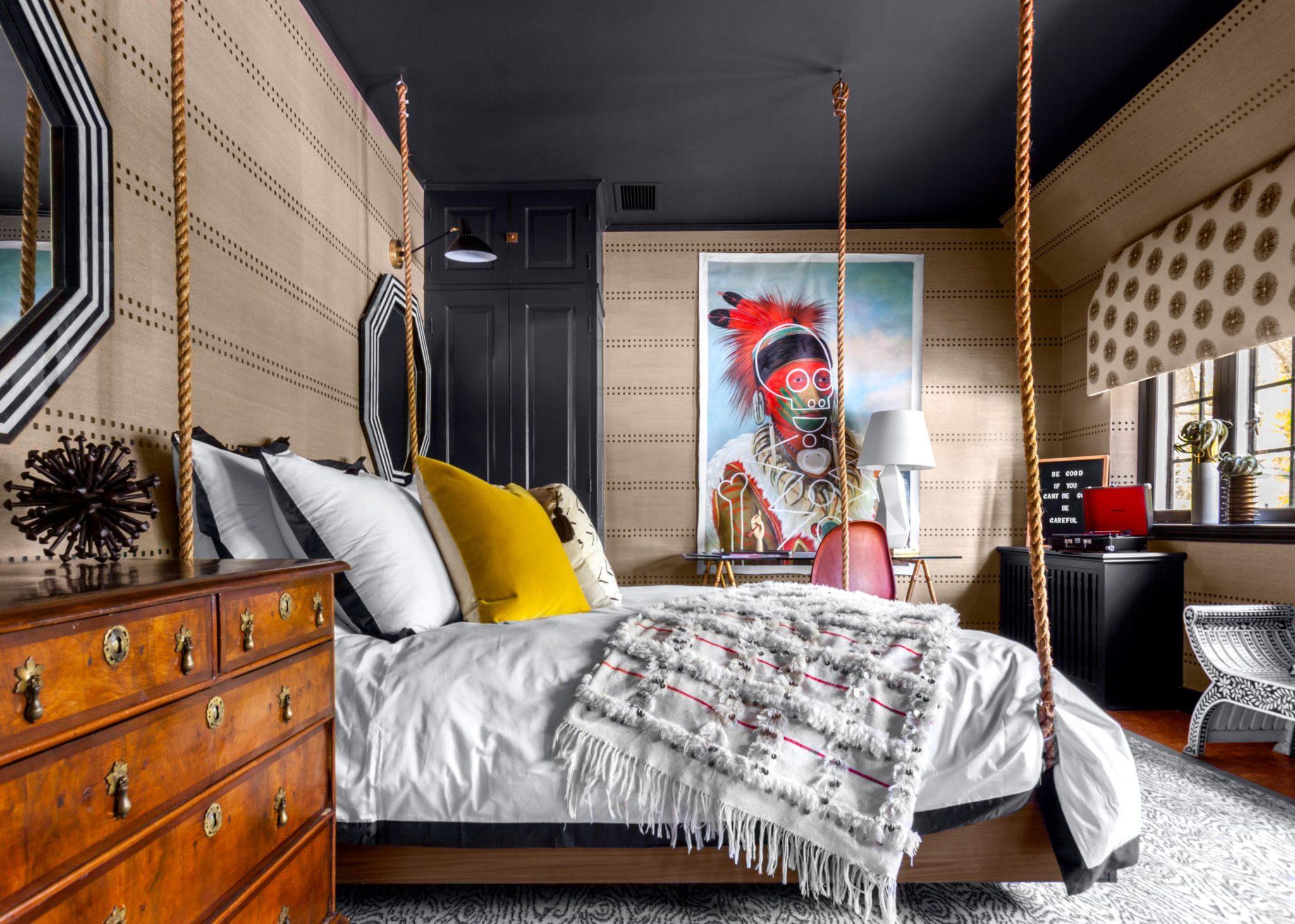 Teenage boy's room by Sarah Whit Interior Design