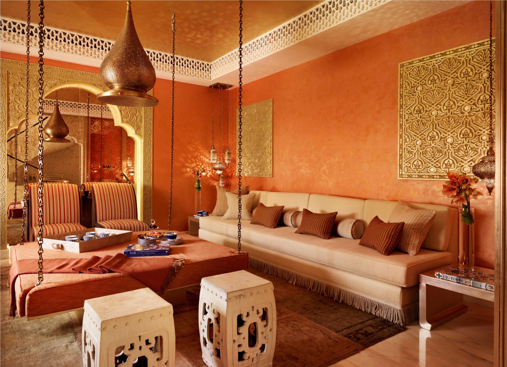 Qatar private villa - Moroccan room by Katharine Pooley