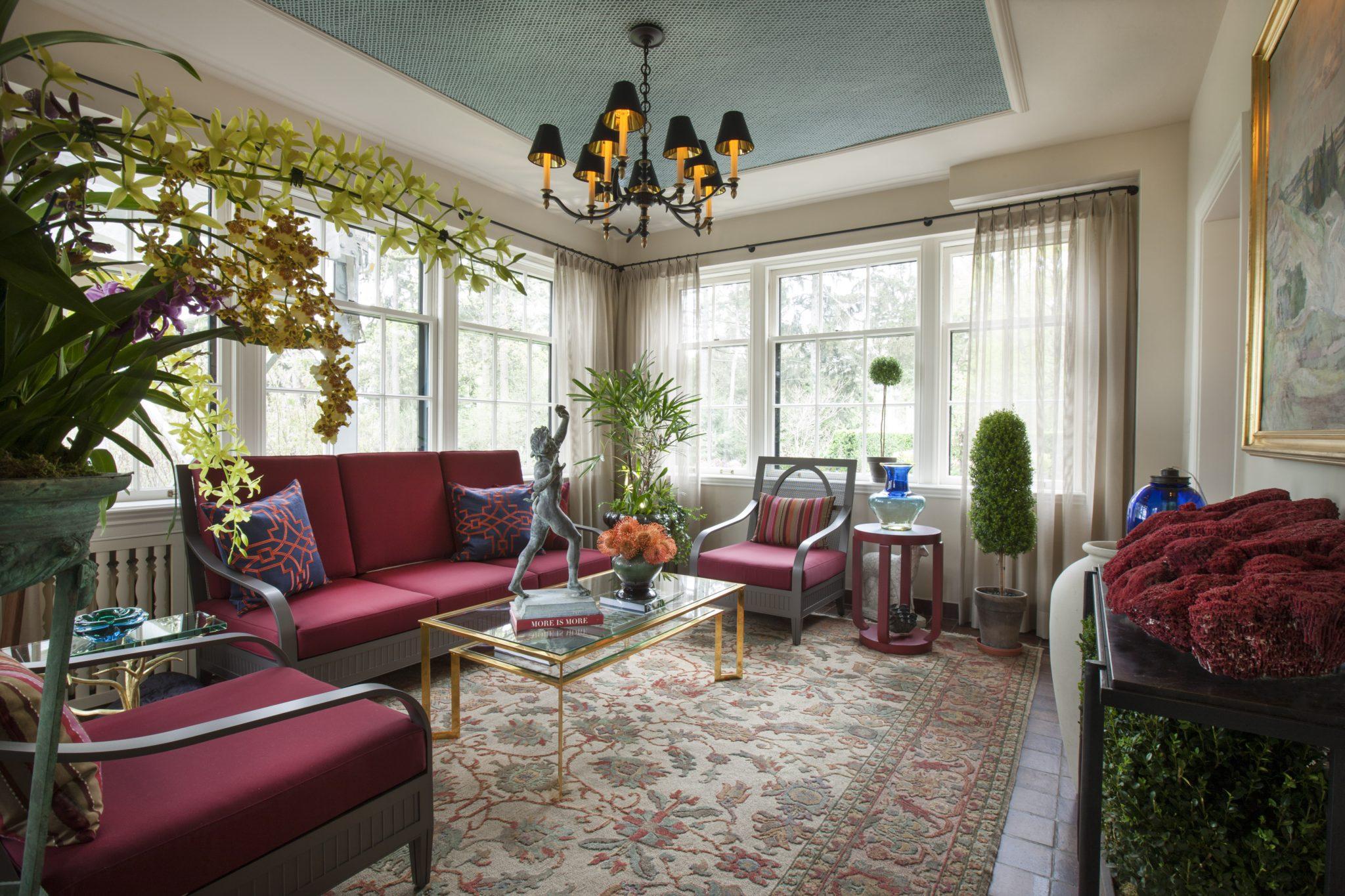 Family room by Paul Klug, Inc.