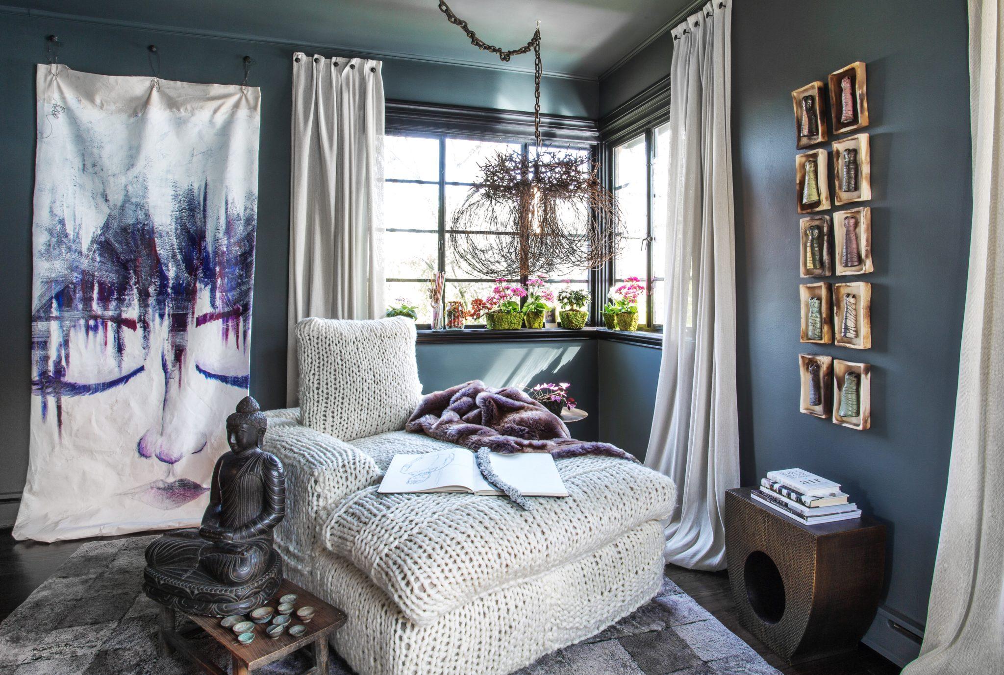 Master sitting room byFredman Design Group