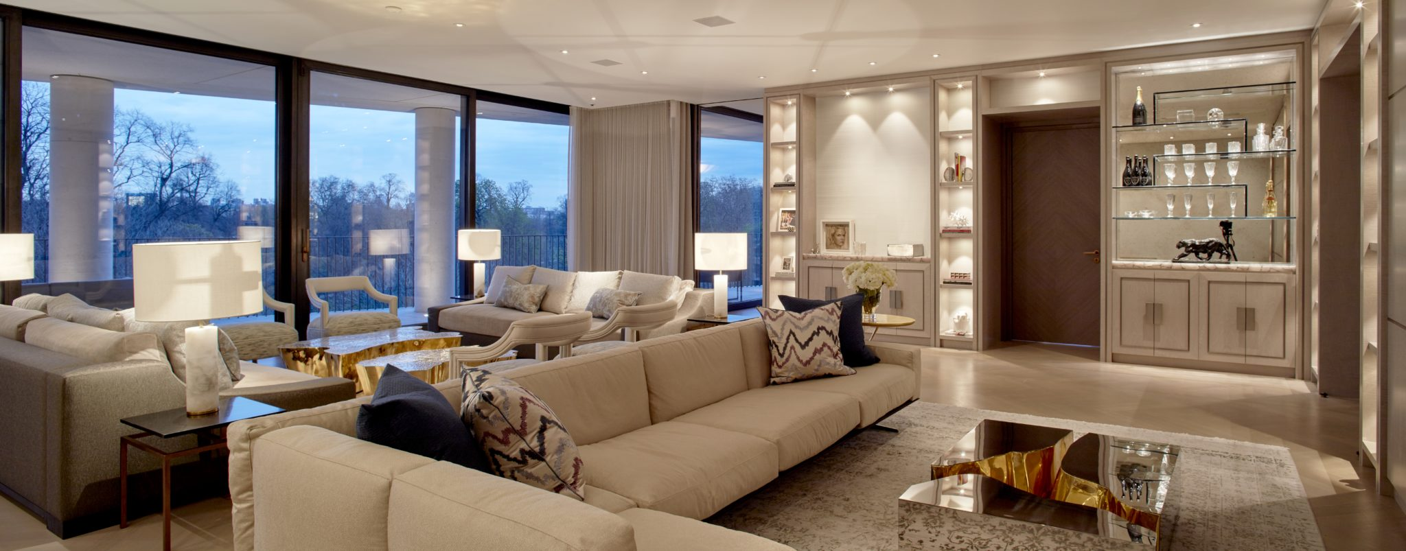 Kensington luxury apartment featuring architecture by Rigby & Rigby