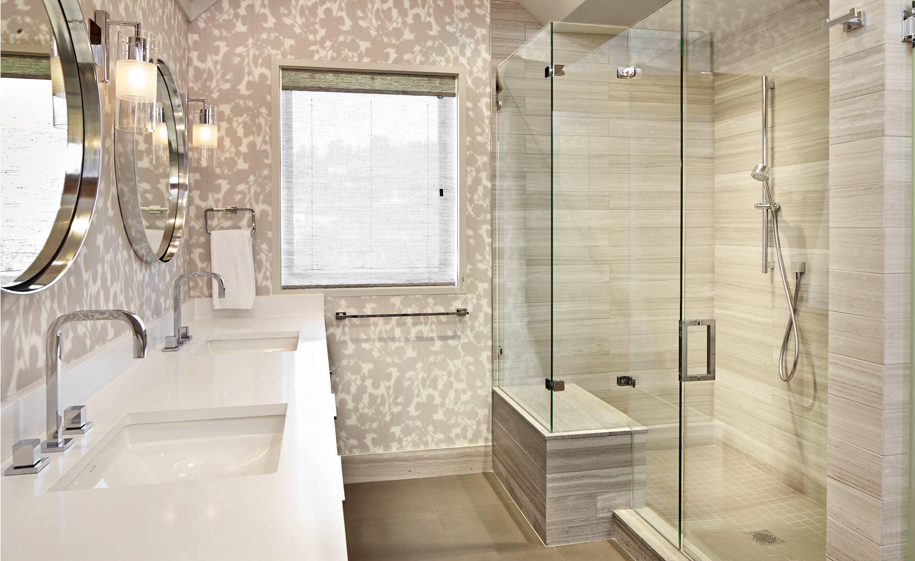 Burgess Pines Residence - Steamboat Springs, CO - Master Bathroom by LKID