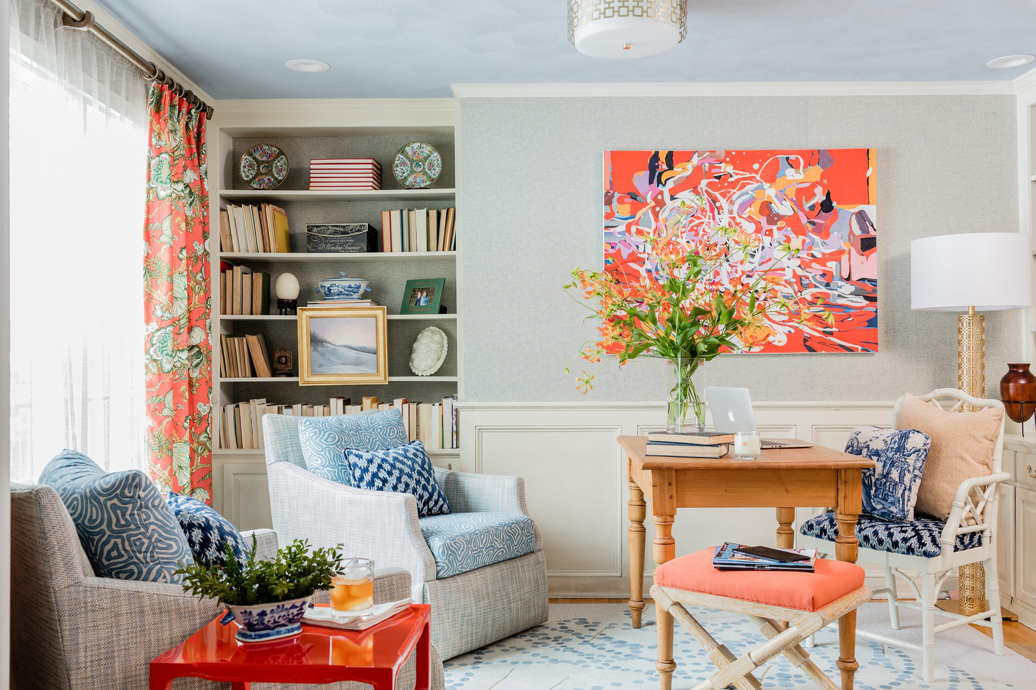 Home Office in North Andover, MA, by Eric Haydel Design