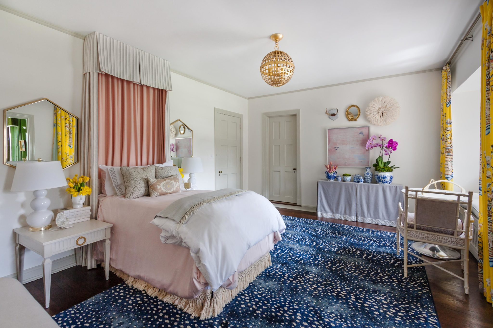 Girl's bedroom by Olive Juice