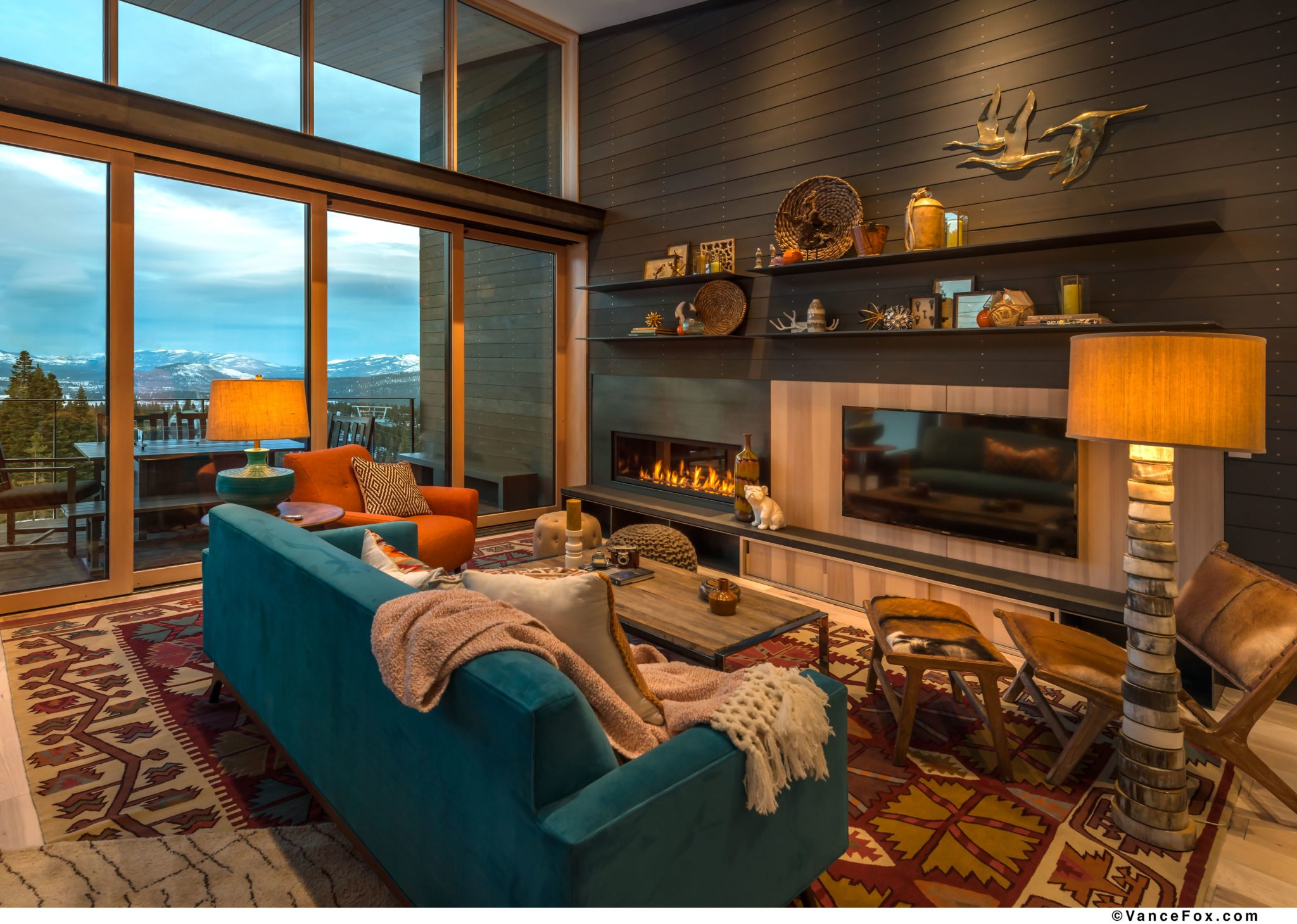 Stellar living room by Scott Corridan Design