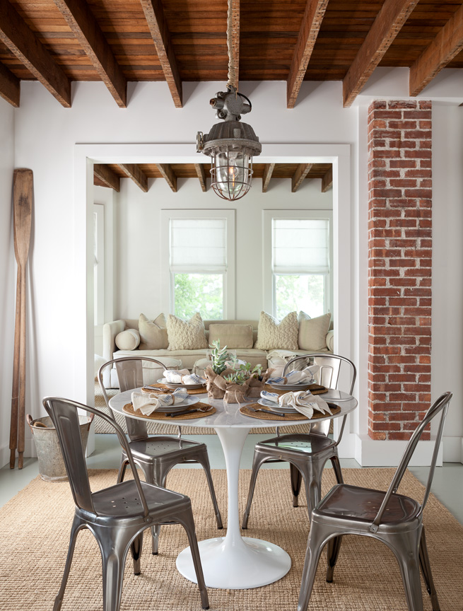 Hamptons cottage by Jenny Wolf Interiors