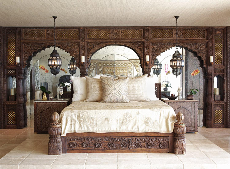 Moroccan bedroom by Martyn Lawrence Bullard Inc.