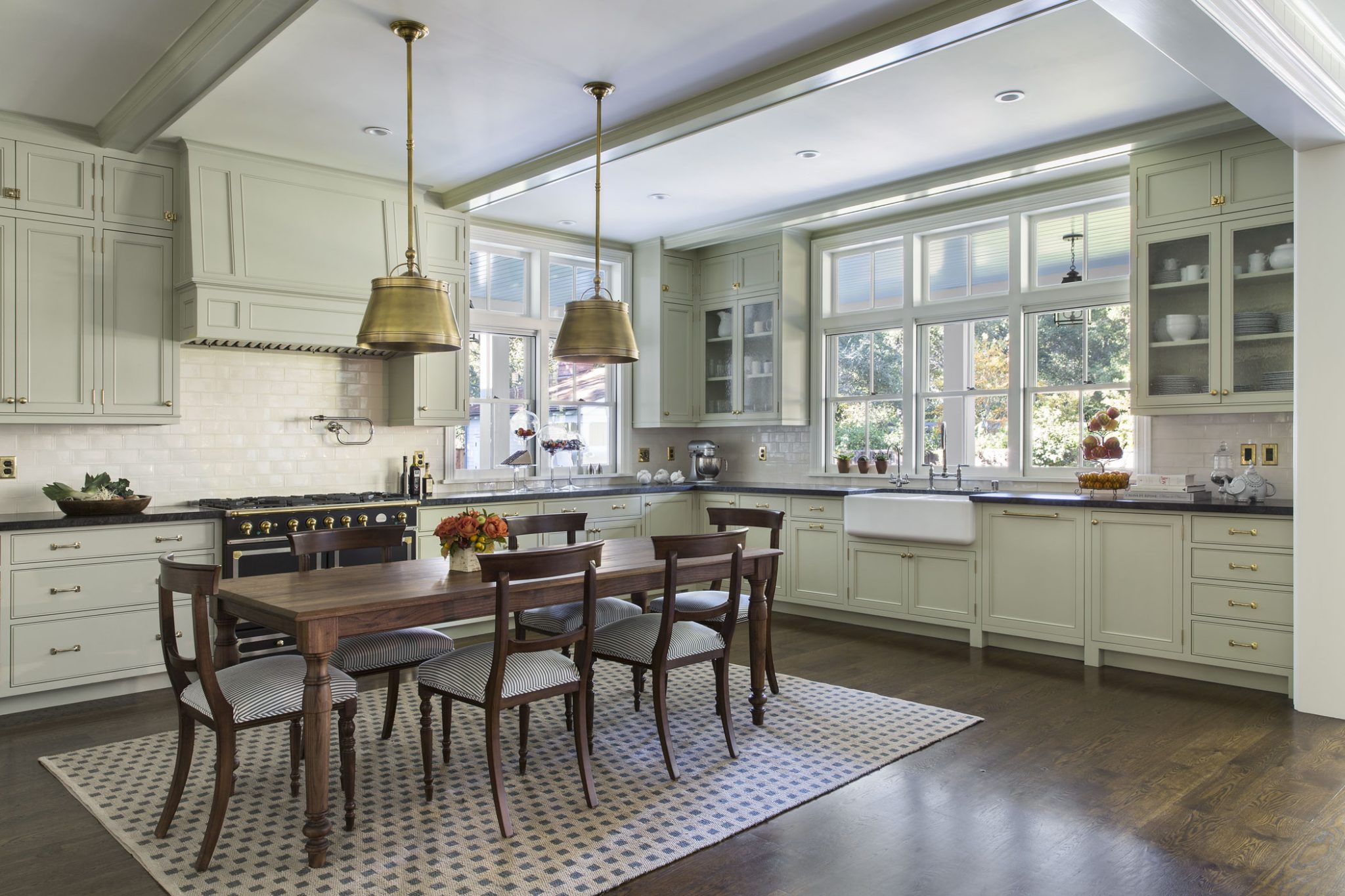 New Tennessee-Style Farmhouse Kitchen by Tim Barber Ltd.