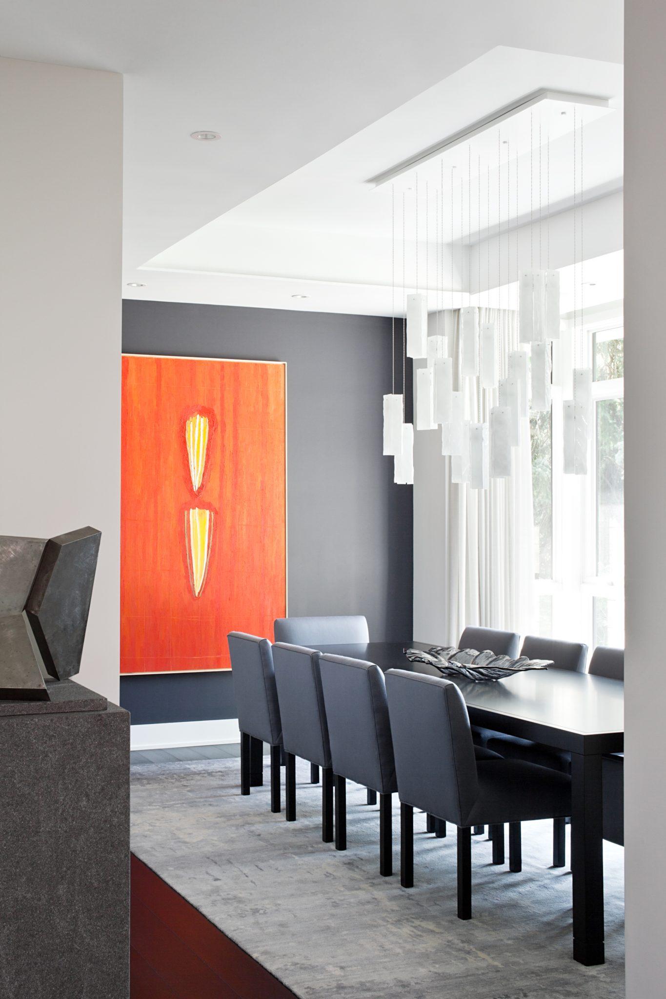 Edenbridge Humber Valley Home - Dining Room by Jennifer Worts Design