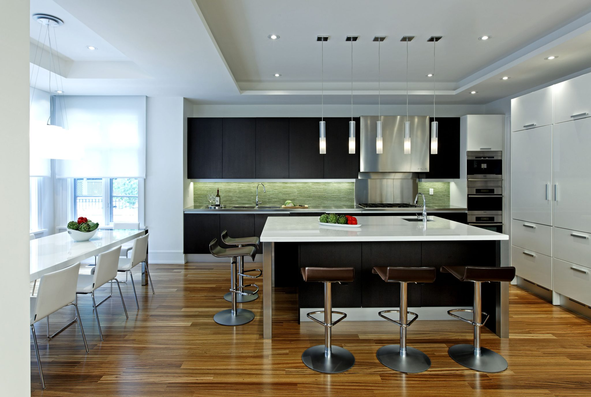 A modern kitchen by Douglas Design Studio