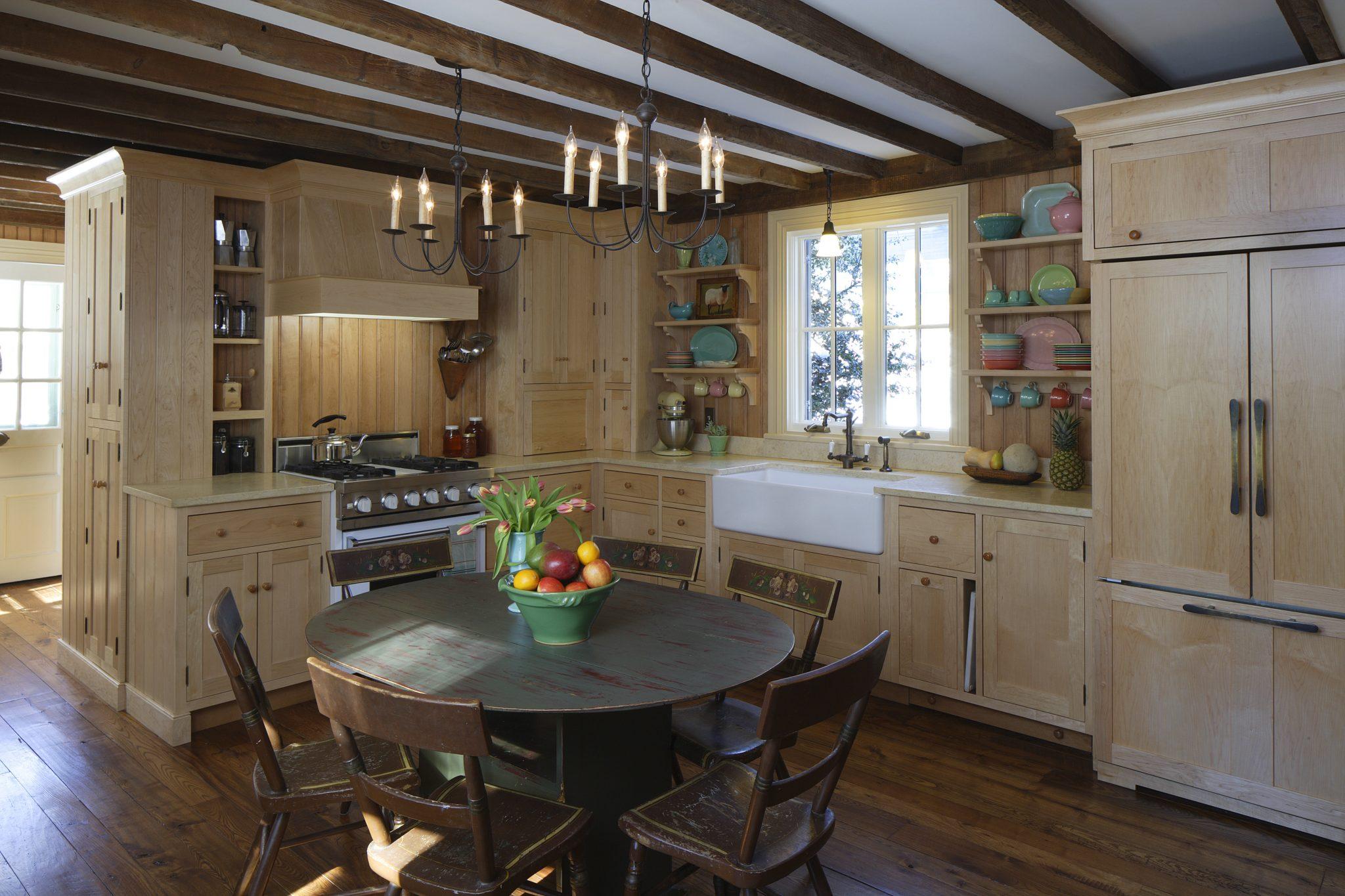 Farmhouse Kitchen by Savery Design