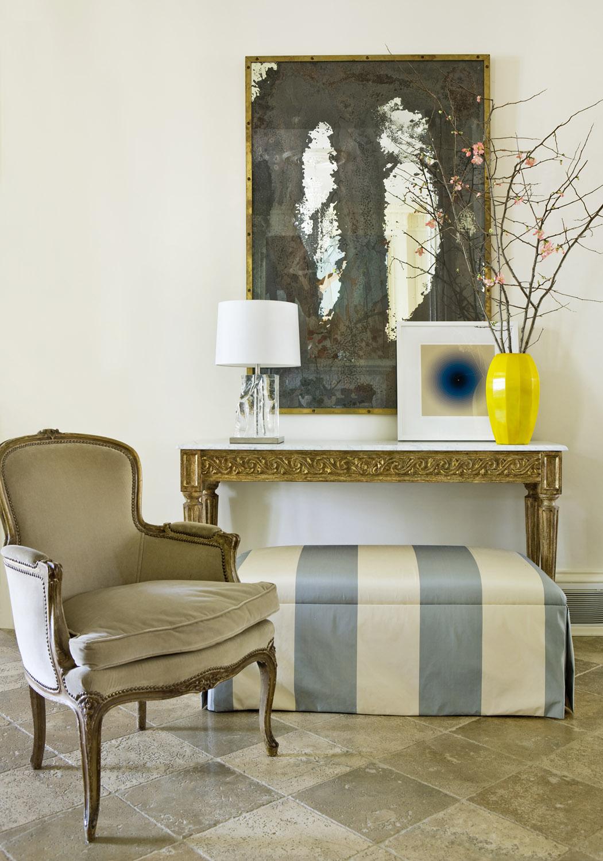 An elegant vignetteby Robert Brown Interior Design