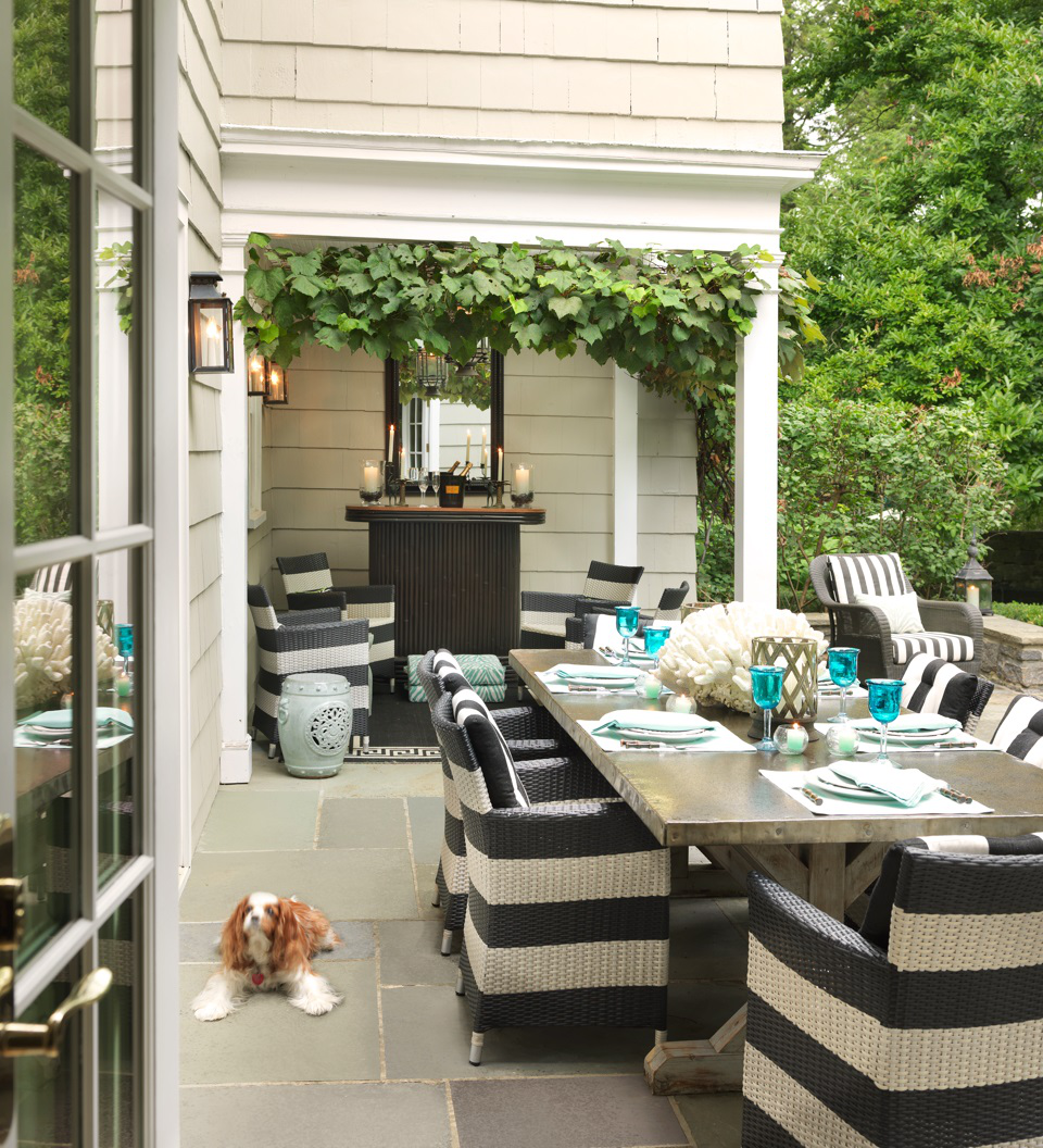 Bronxville property by Ken Gemes Interiors
