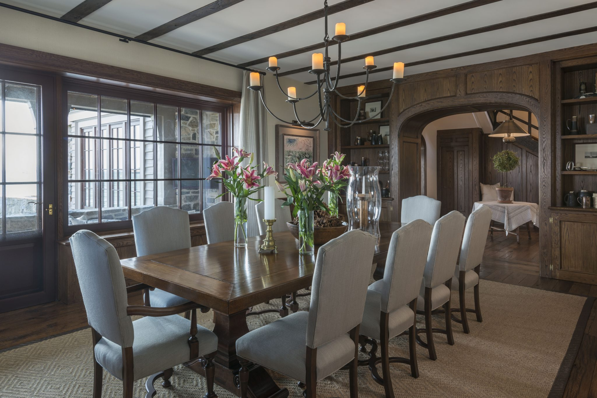 Waterfront Residence Dining Room by Brooks & Falotico Associates, Inc.