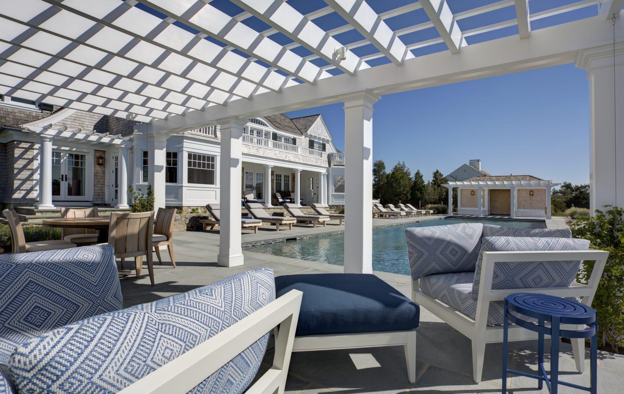 Property in Martha's Vineyard, Massachusetts, by Slifer Designs