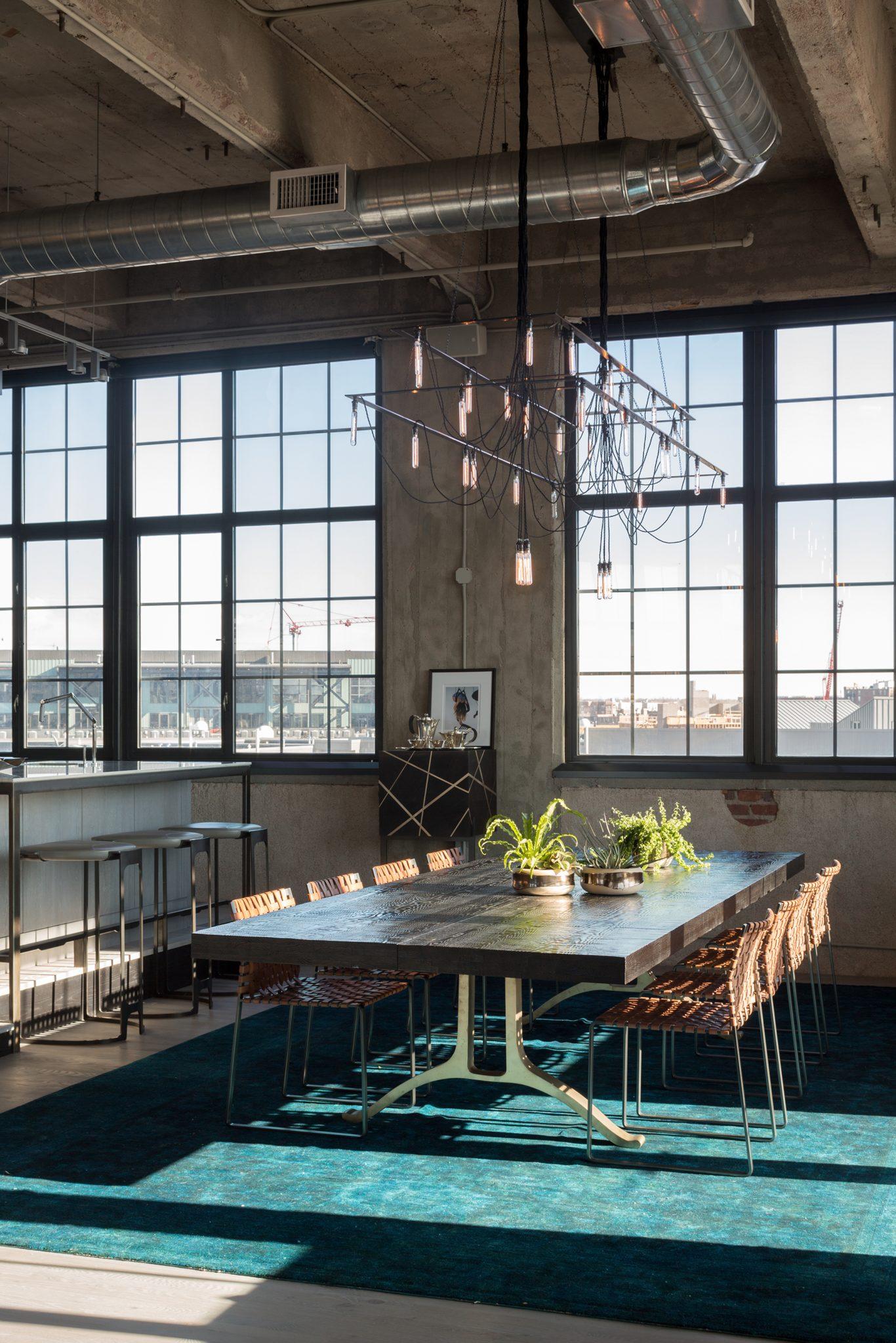 Flour Mill Dining Room by STUDIO GILD