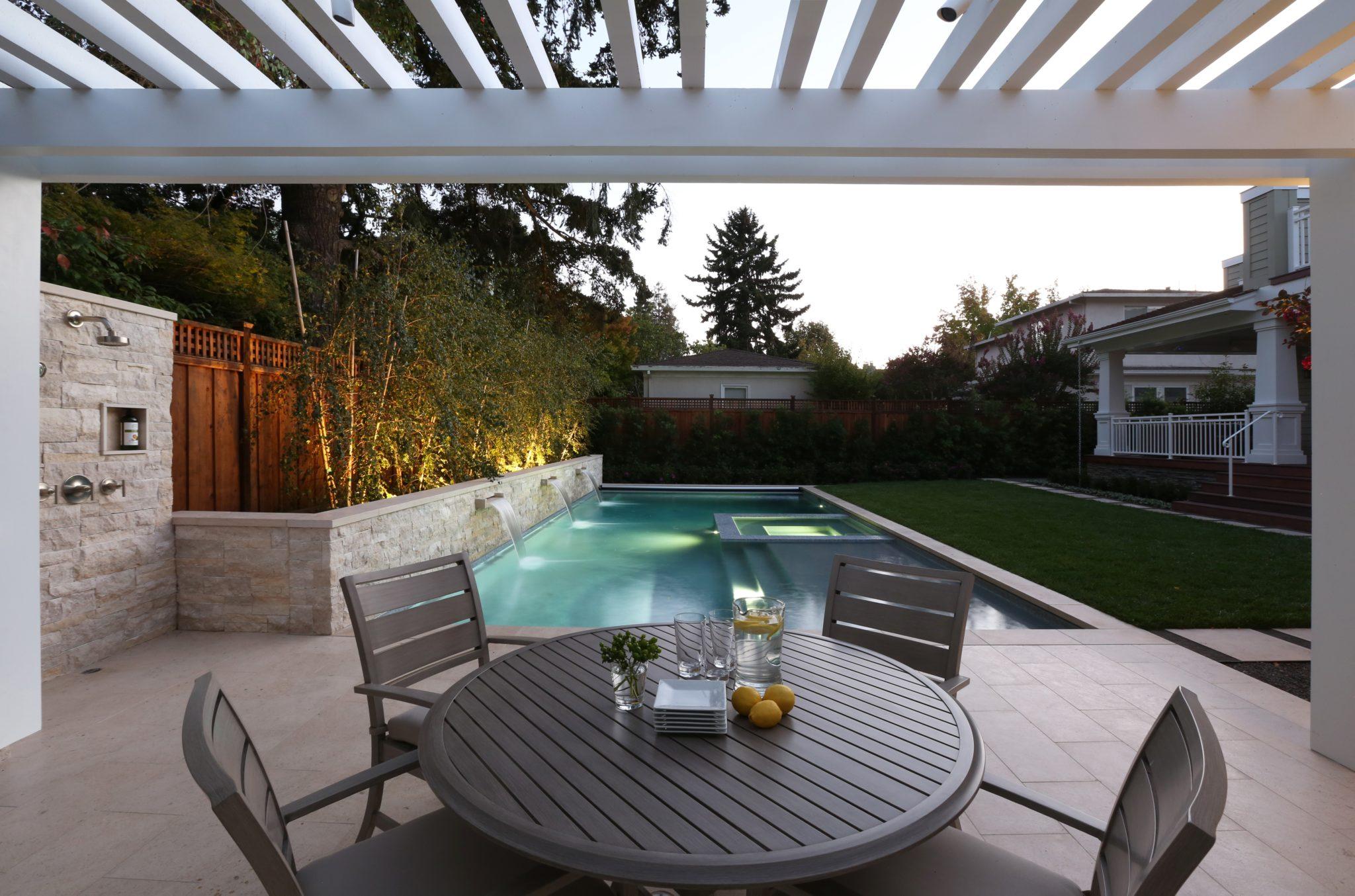 Palo Alto pool andlandscape by Greenblott Design