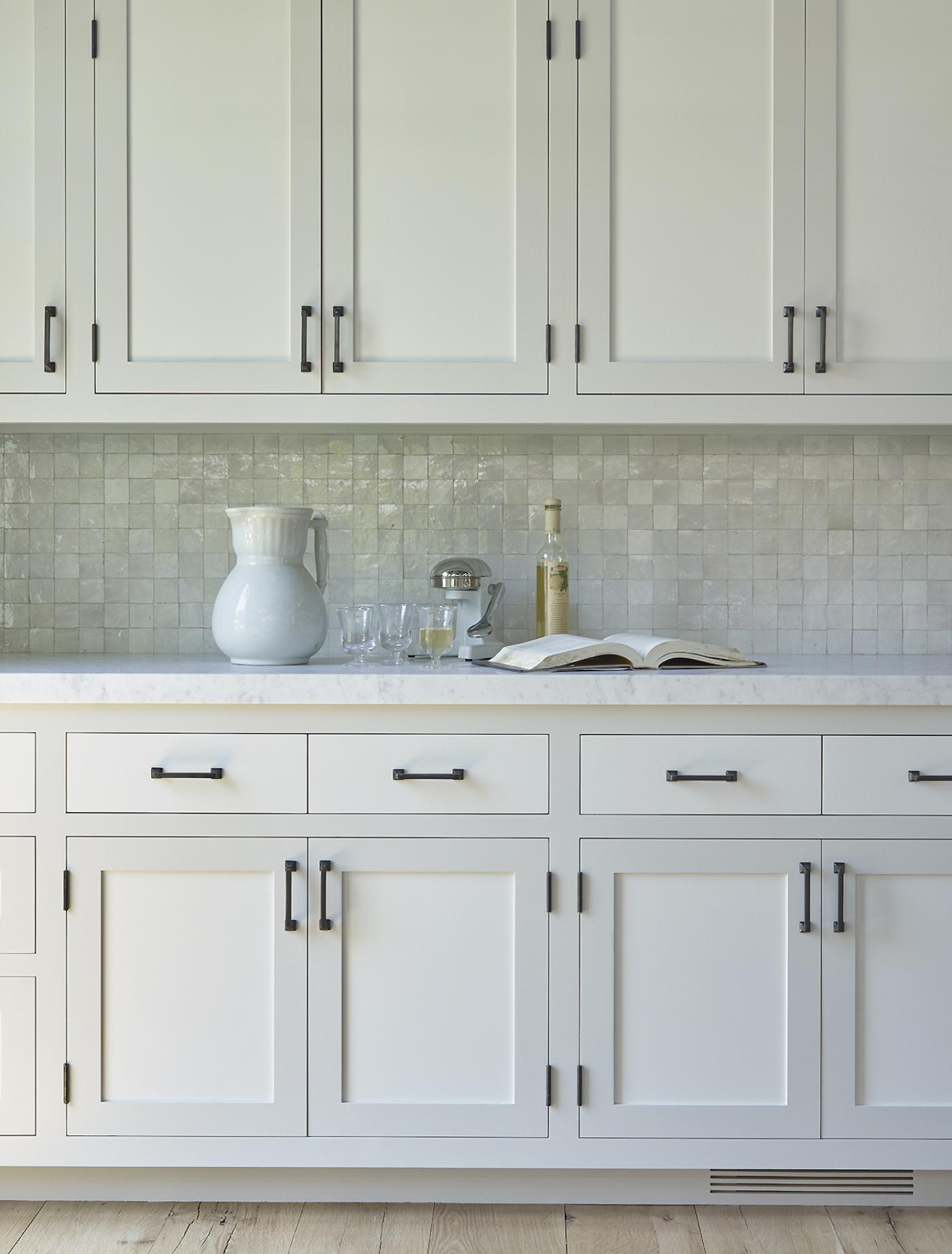 East Hampton Kitchen Detail by Dan Scotti Design
