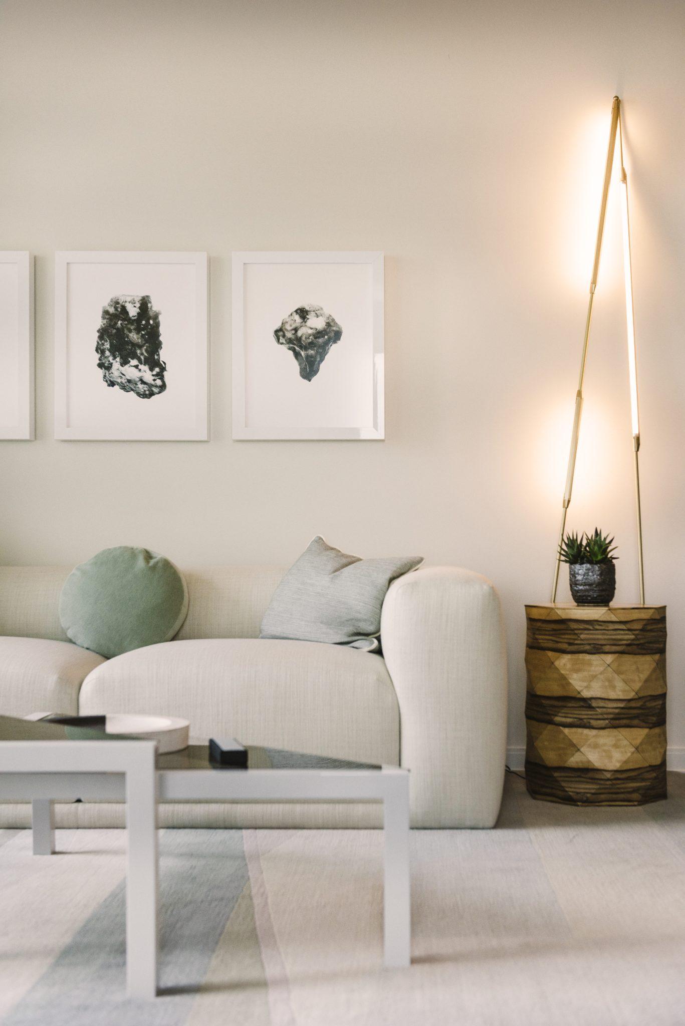 Urban, luxury condo - The Harrison residence - San Francisco. By SFA Design