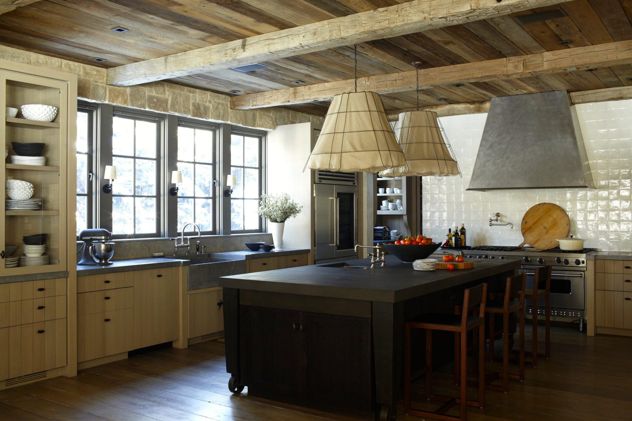 A rustic kitchen by M. Elle Design