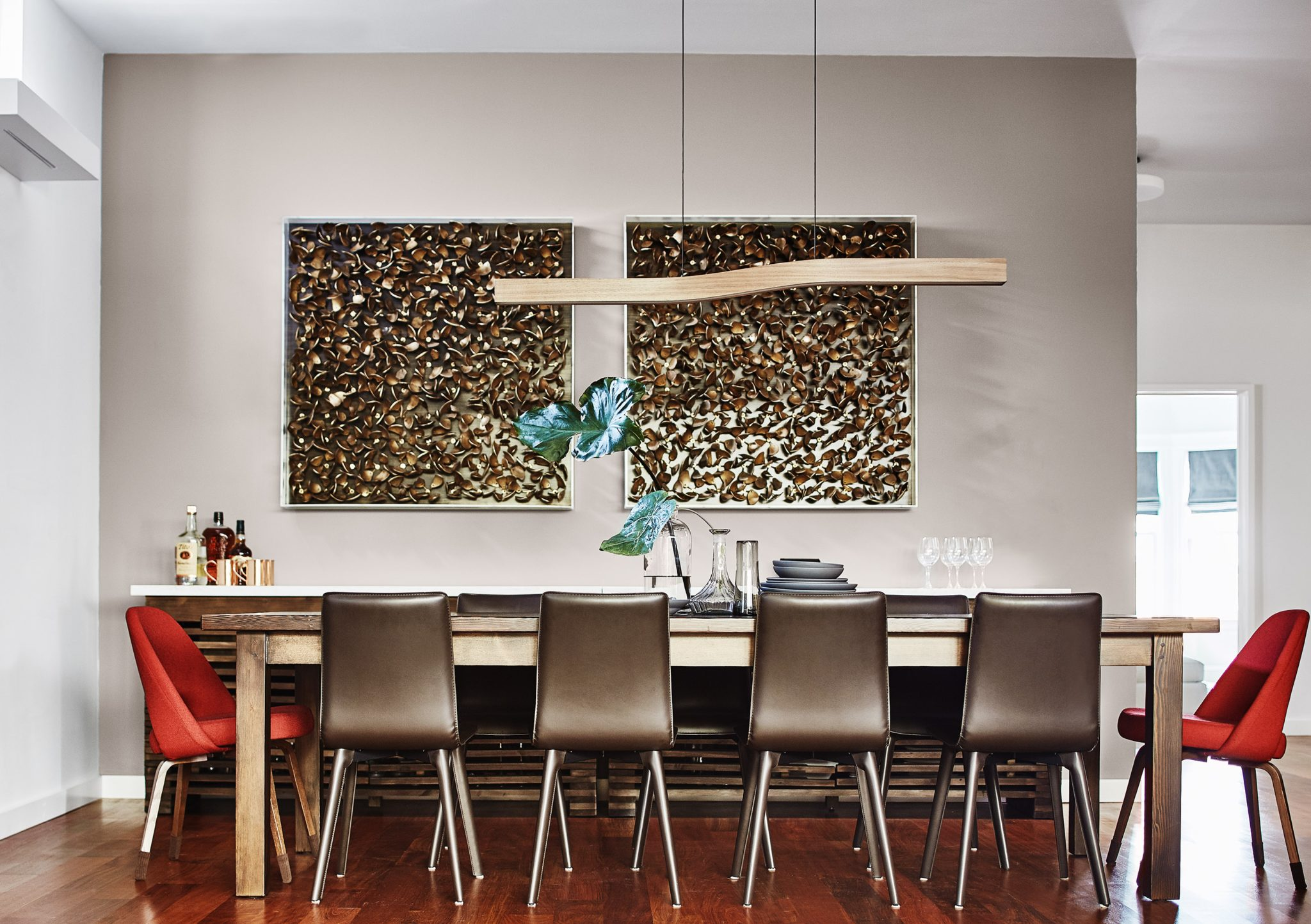 Cool On The Hill San Francisco Dining Room by Staprans Design
