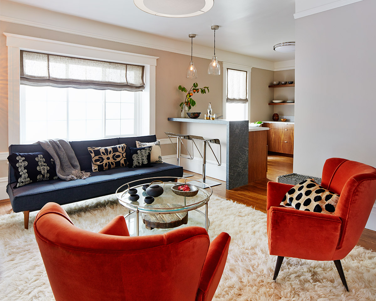 A modern luxury apartment in San Franciscoby Staprans Design