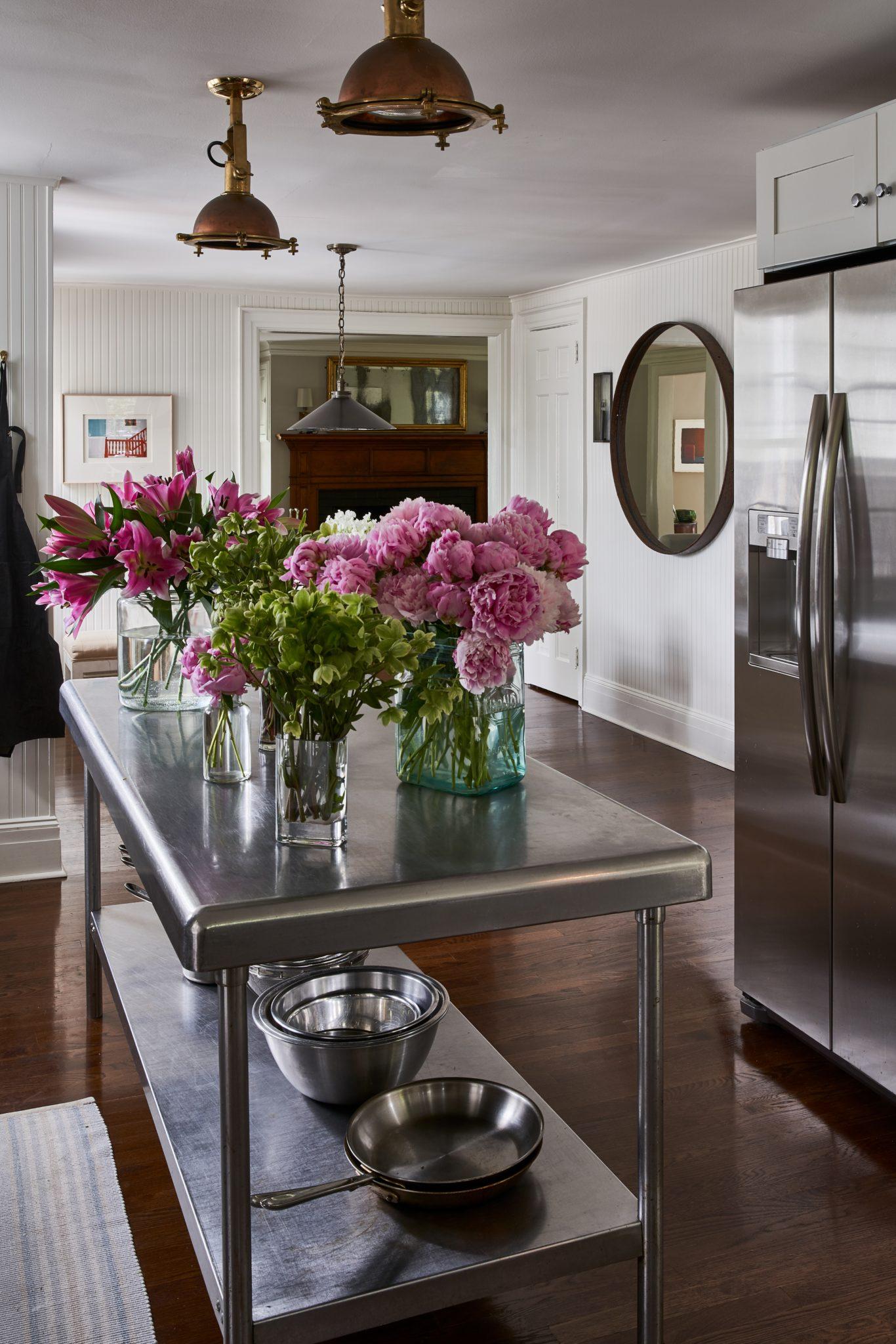 Southampton Historic Home Working Kitchen by Brady Design