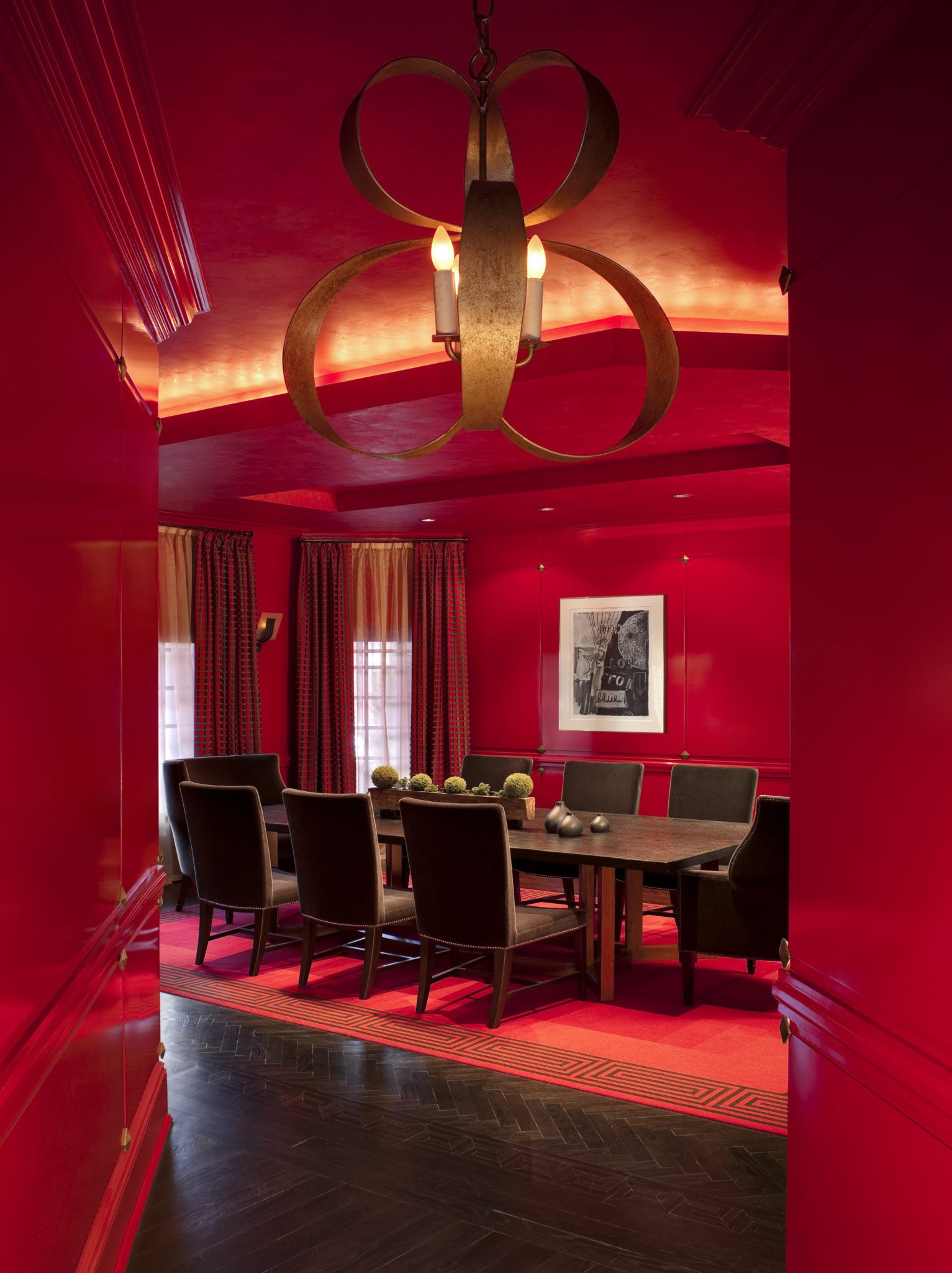 Mount Kisco - dining room by SGH Designs Inc.