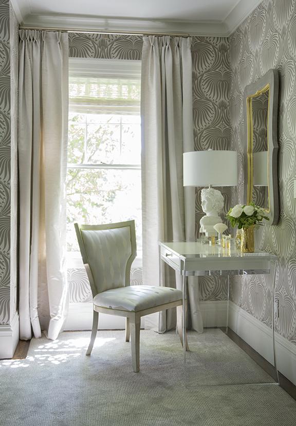Historic Chestnut Hill, Master Bedroom Vanity by Liz Caan & Co.