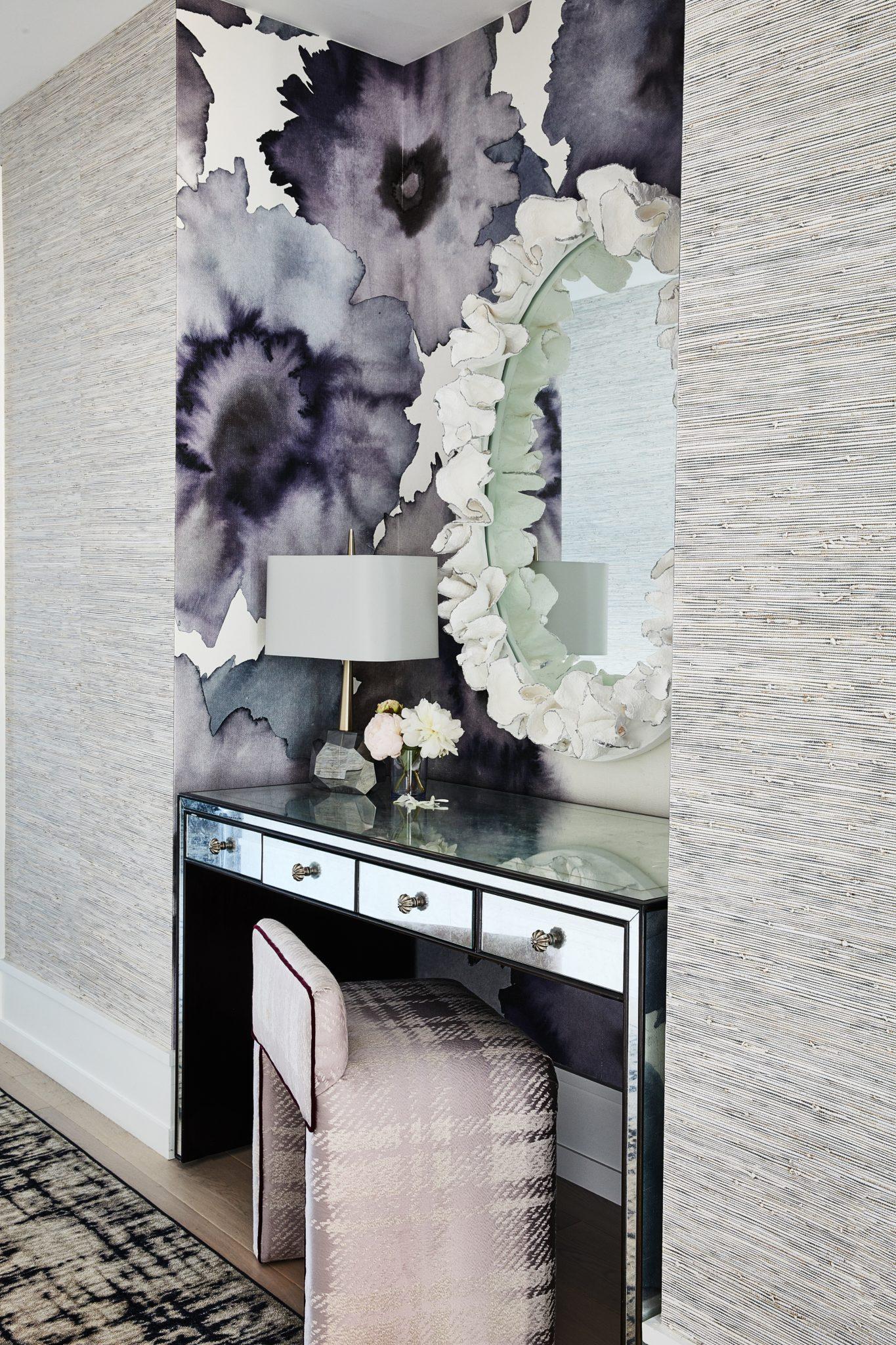 Master bedroom vanity by Jeff Schlarb Design Studio