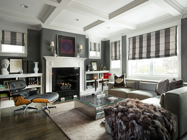 A sophisticated living roomby Joey Leicht Design Inc.