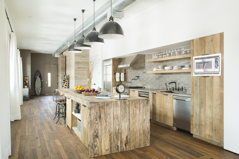 Kitchen of Marine Loft by SUBU Design Architecture