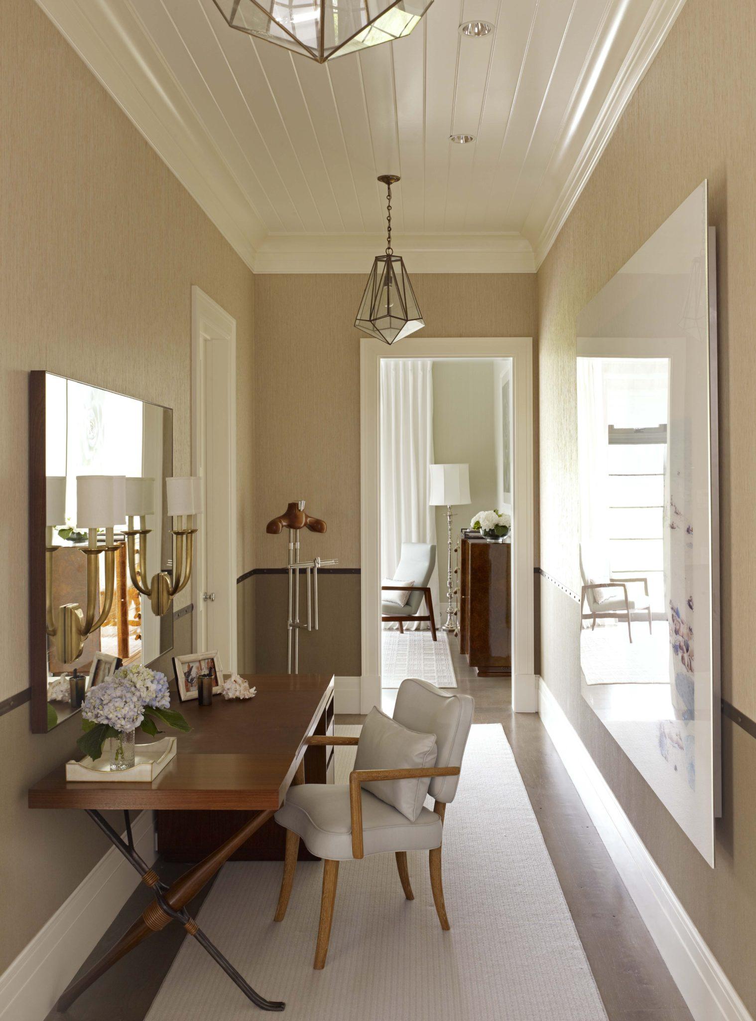Bridgehampton Residence, Guest Master Bedroom Dressing Room by Stephens Design Group