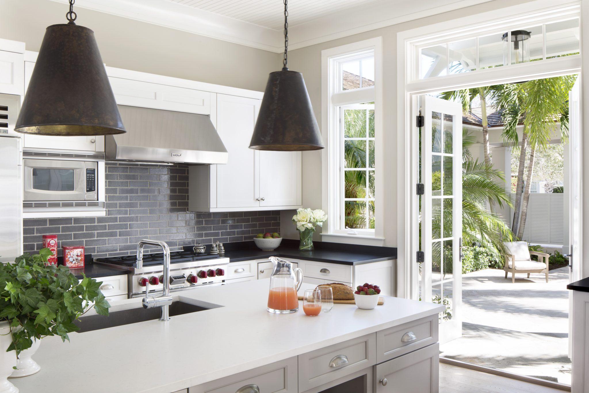 Modern Florida Kitchen - Vero Beach, FL by Greer Interior Design