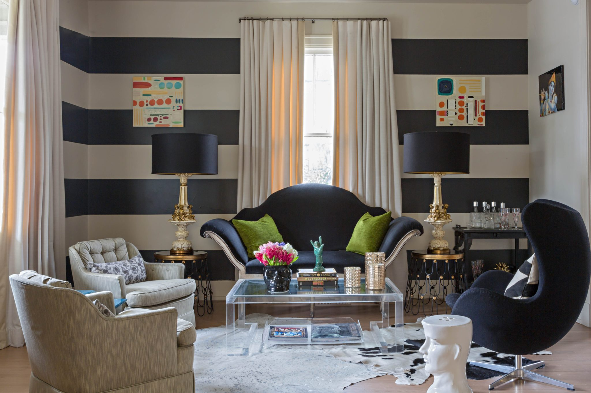 Eclectic living room by Eclectic Home