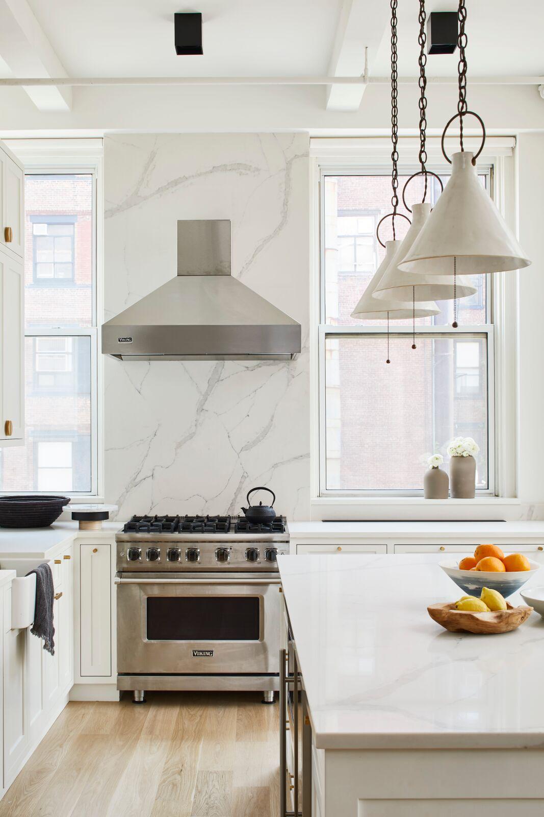 Flatiron Loft, Kitchen Alternate View by Current Interiors