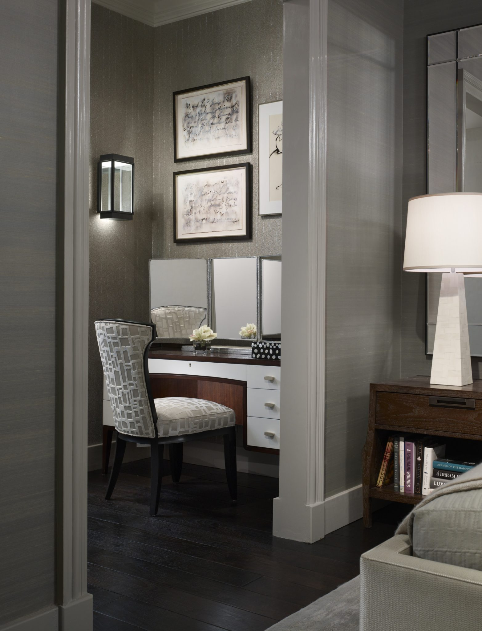 Dream Home - Dressing Area by Michael Abrams Interiors