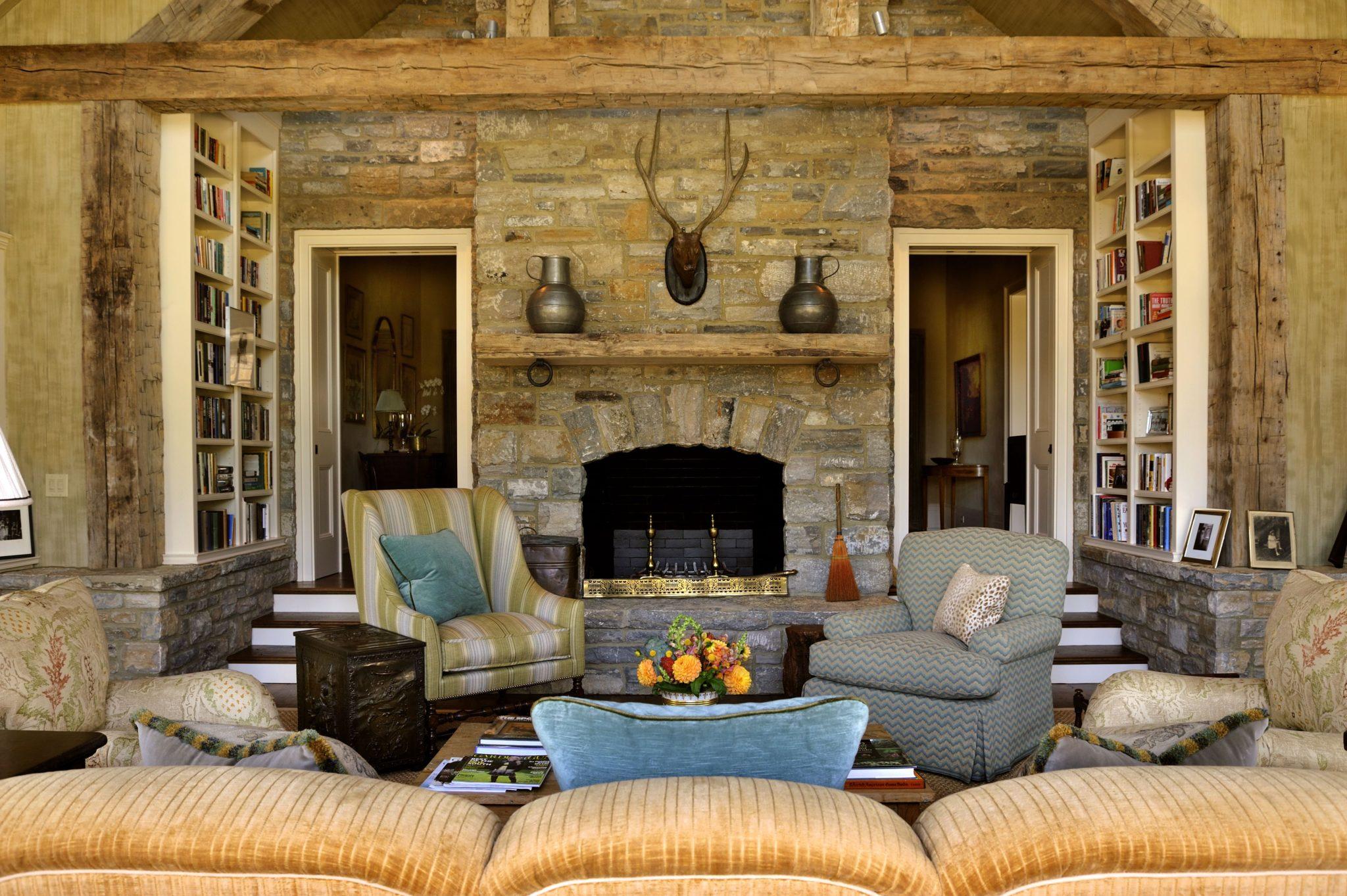Interior design byMatthew Carter Interiors
