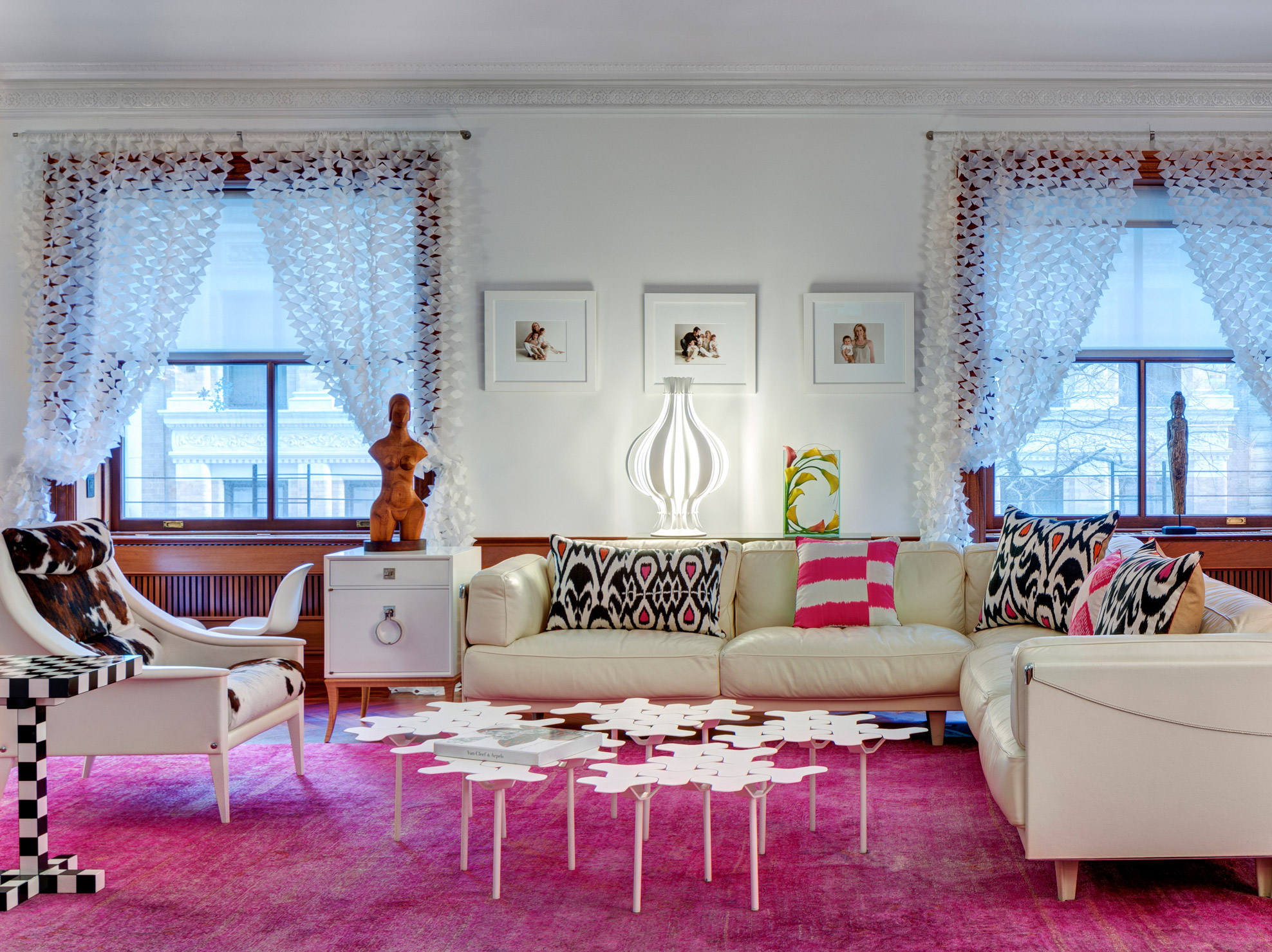Prewar, Classic-8, UWS NYC, Interior Design/Decoration/Restor, Custom Living Rm by Galo Verdesoto Design
