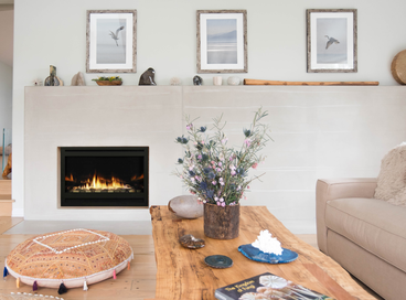 Well-Styled Mantels & Fireplaces