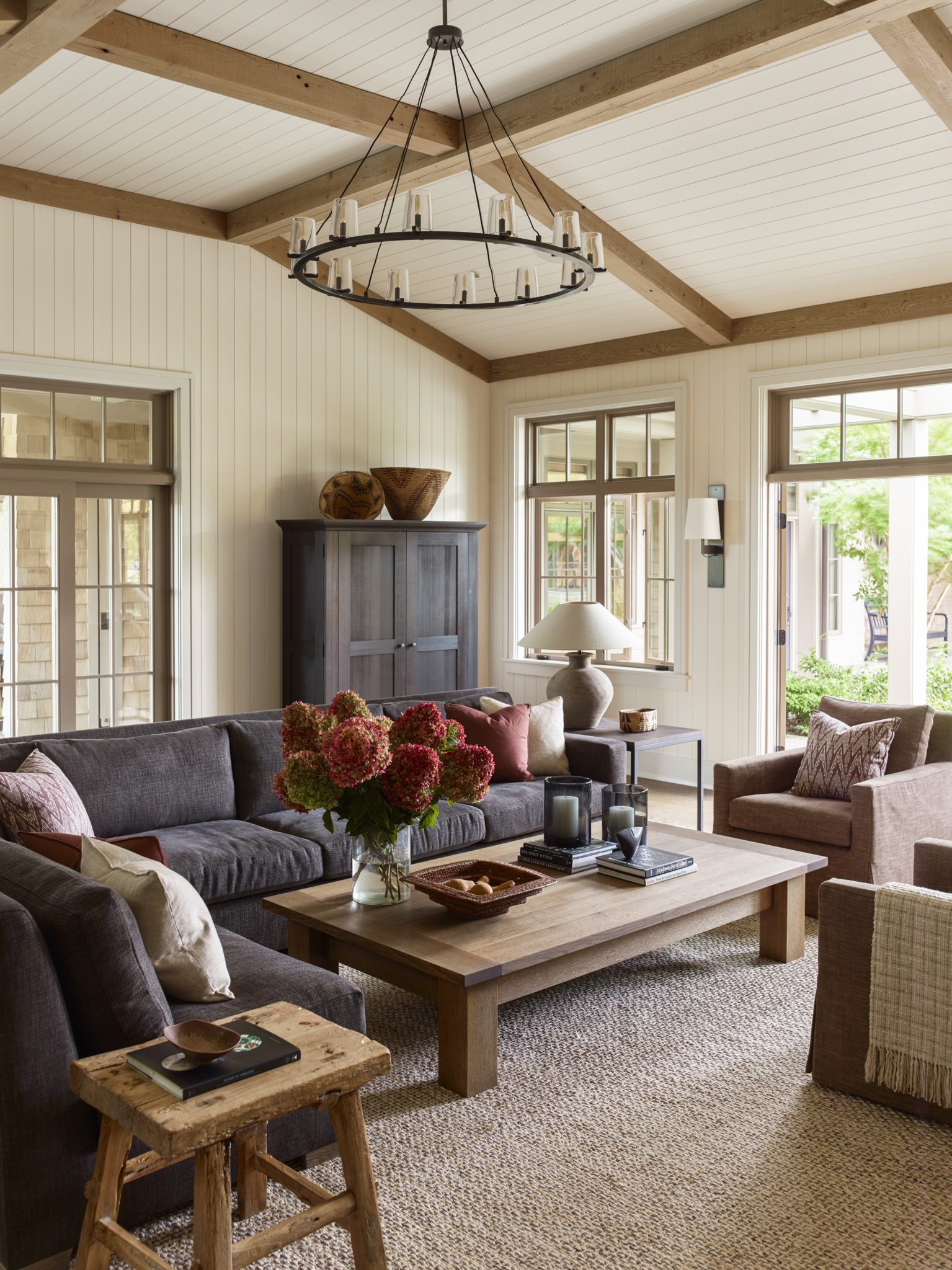 San Juan Island Retreat - Family Room by Kylee Shintaffer