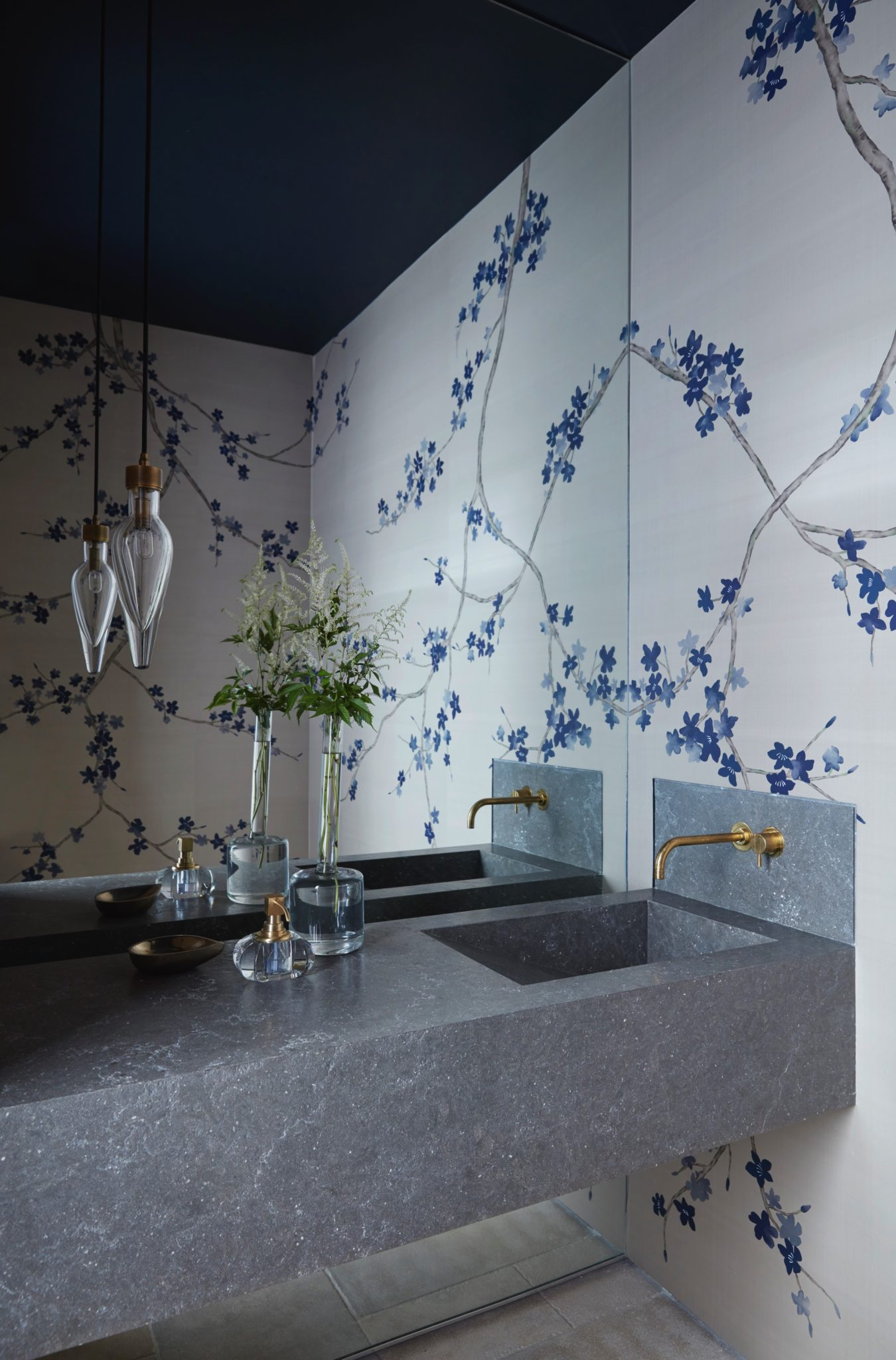 The Main Powder Room by MLK Studio