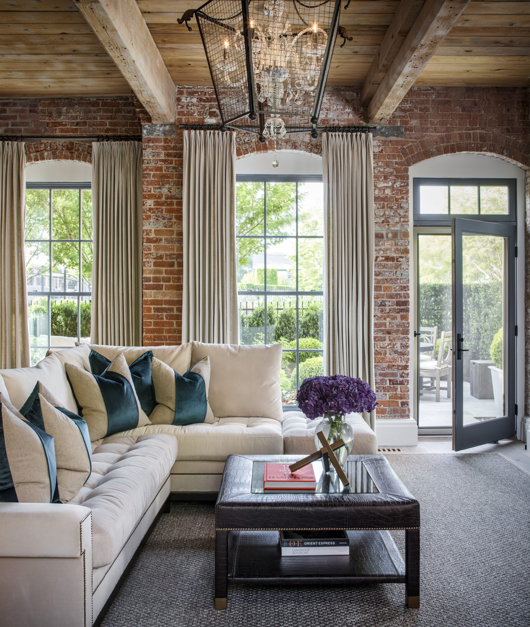 SAG Harbor Living Room by Posh Exclusive Interiors