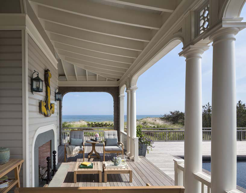 Amenities at the pool include a cabana and a generous pool porch just outside the family room. A fireplace extends the use of pool porch into the cooler weather.