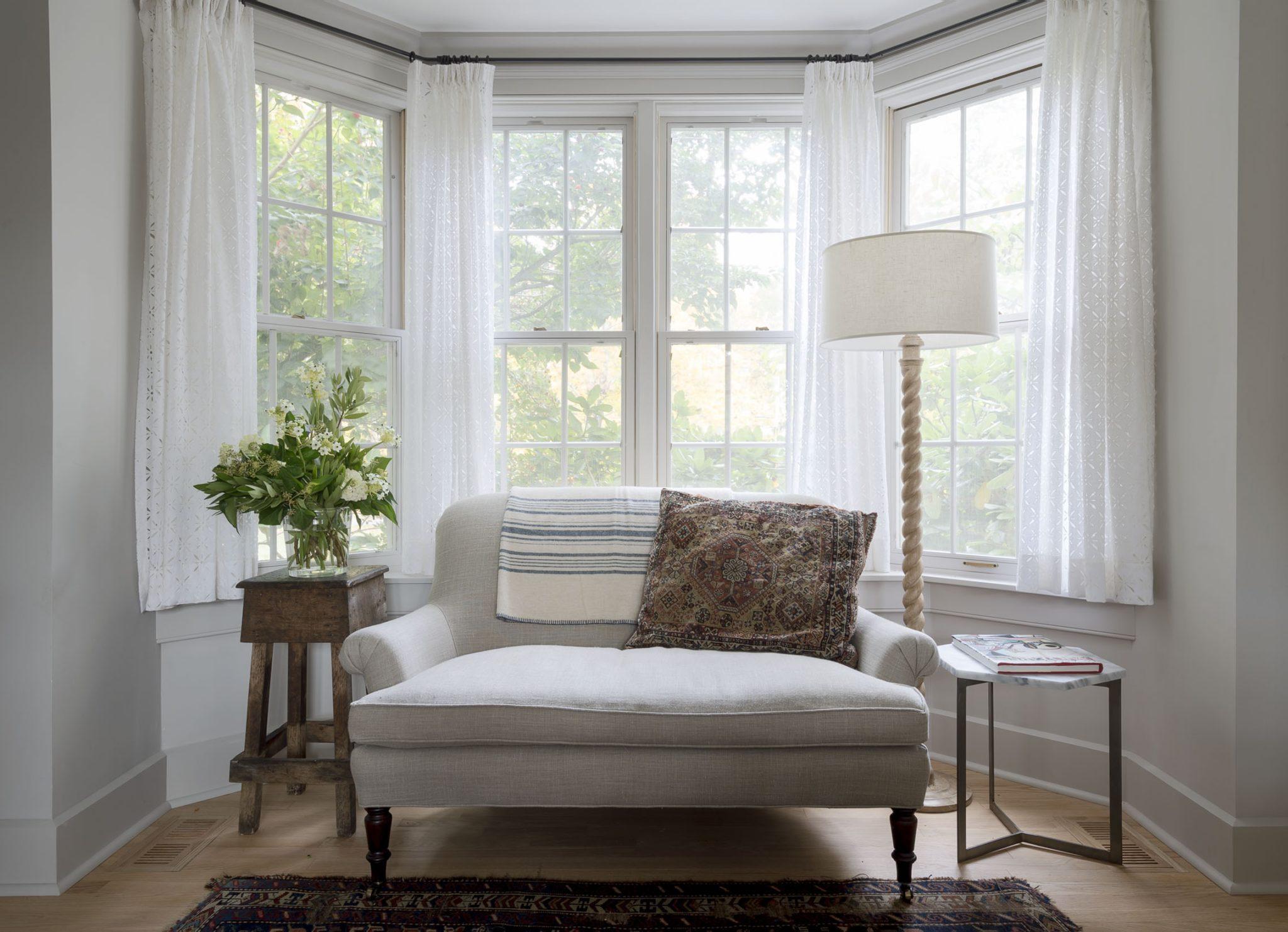 Ideas For Decorating Around Bay Windows Chairish Blog