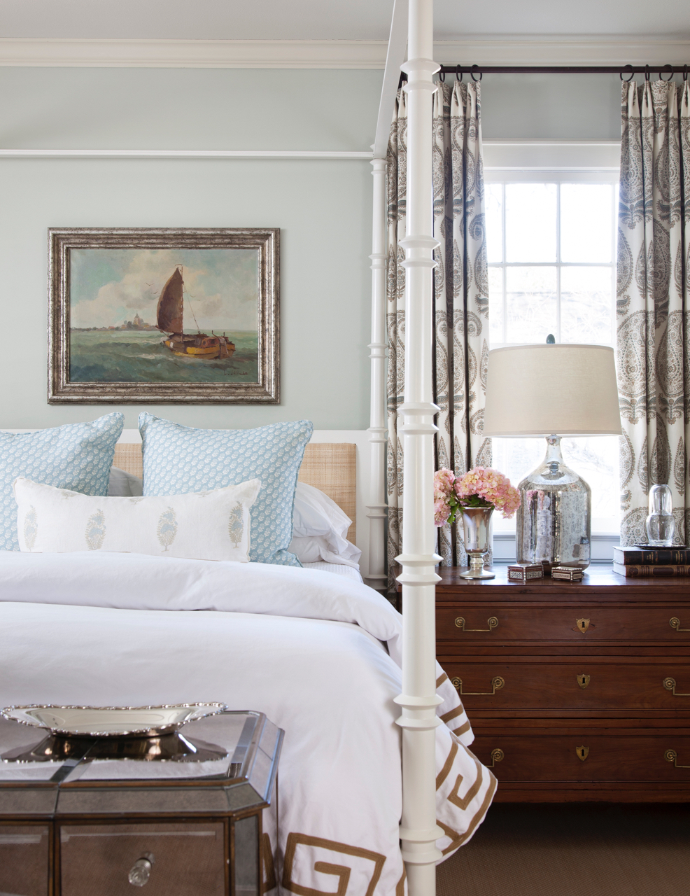 Bedroom - Pemberton Heights, Austin, TX by Meredith Ellis Design