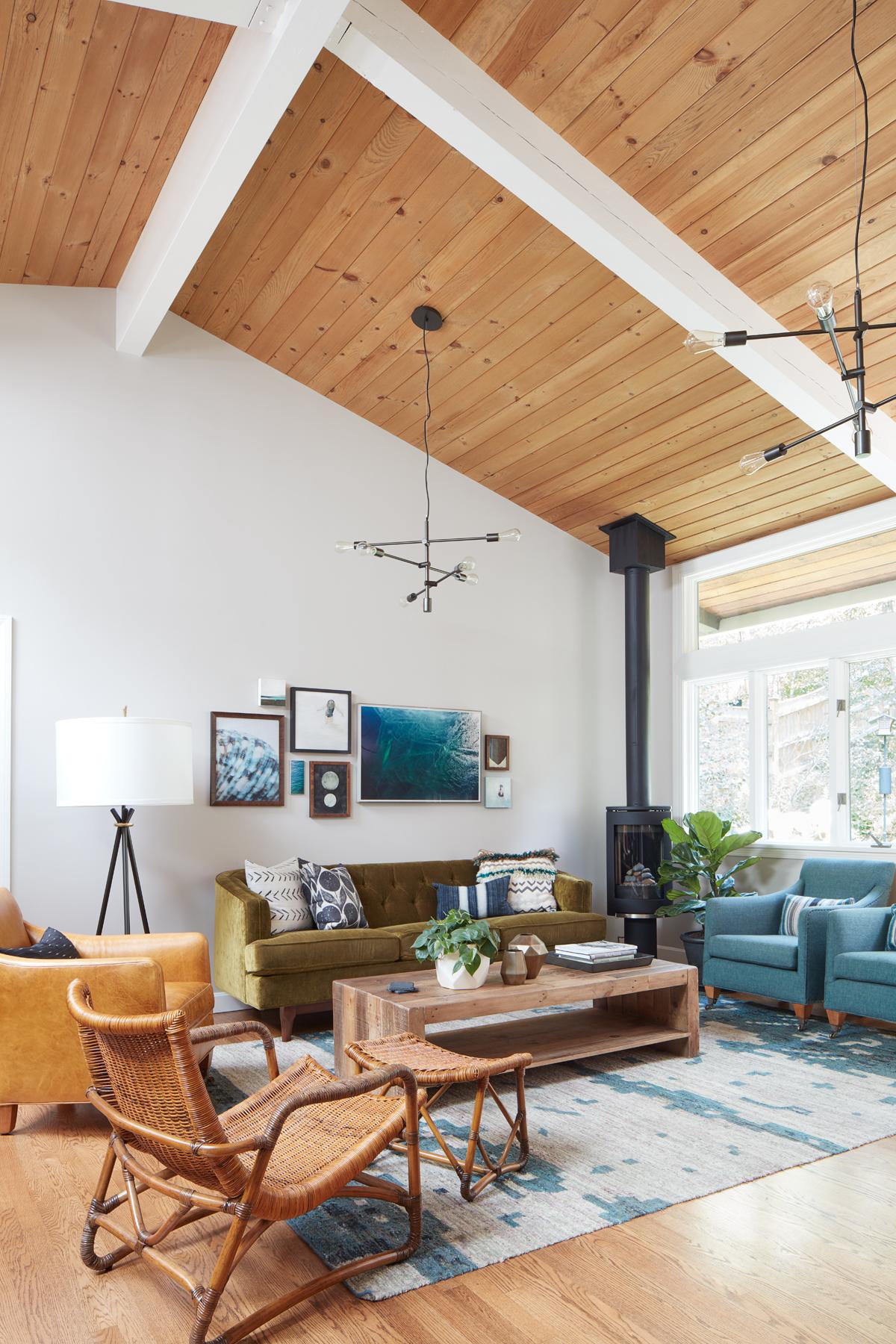 Interior design by Kristina Crestin Design