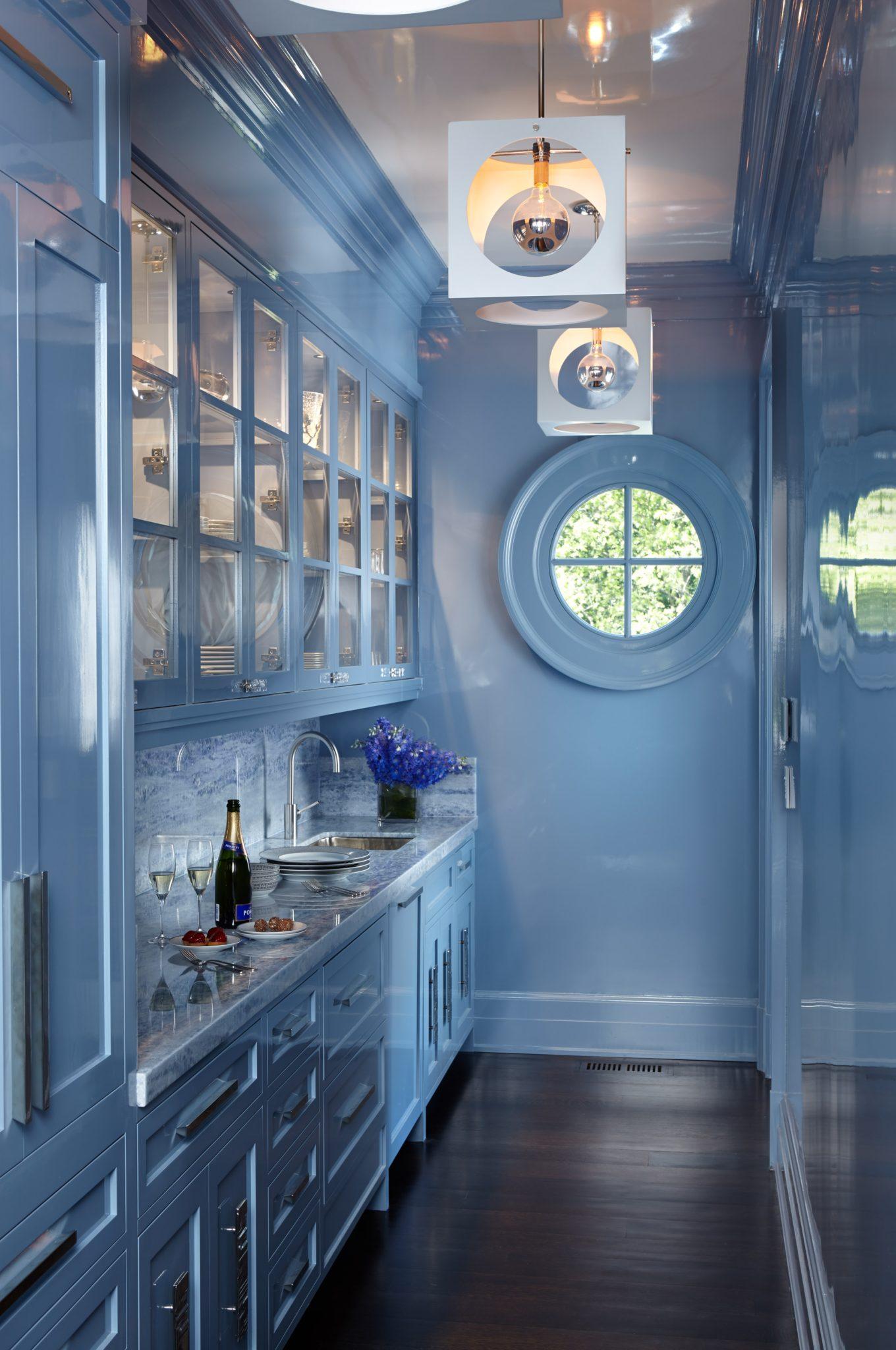 Modern Butlers Pantry by Shope Reno Wharton