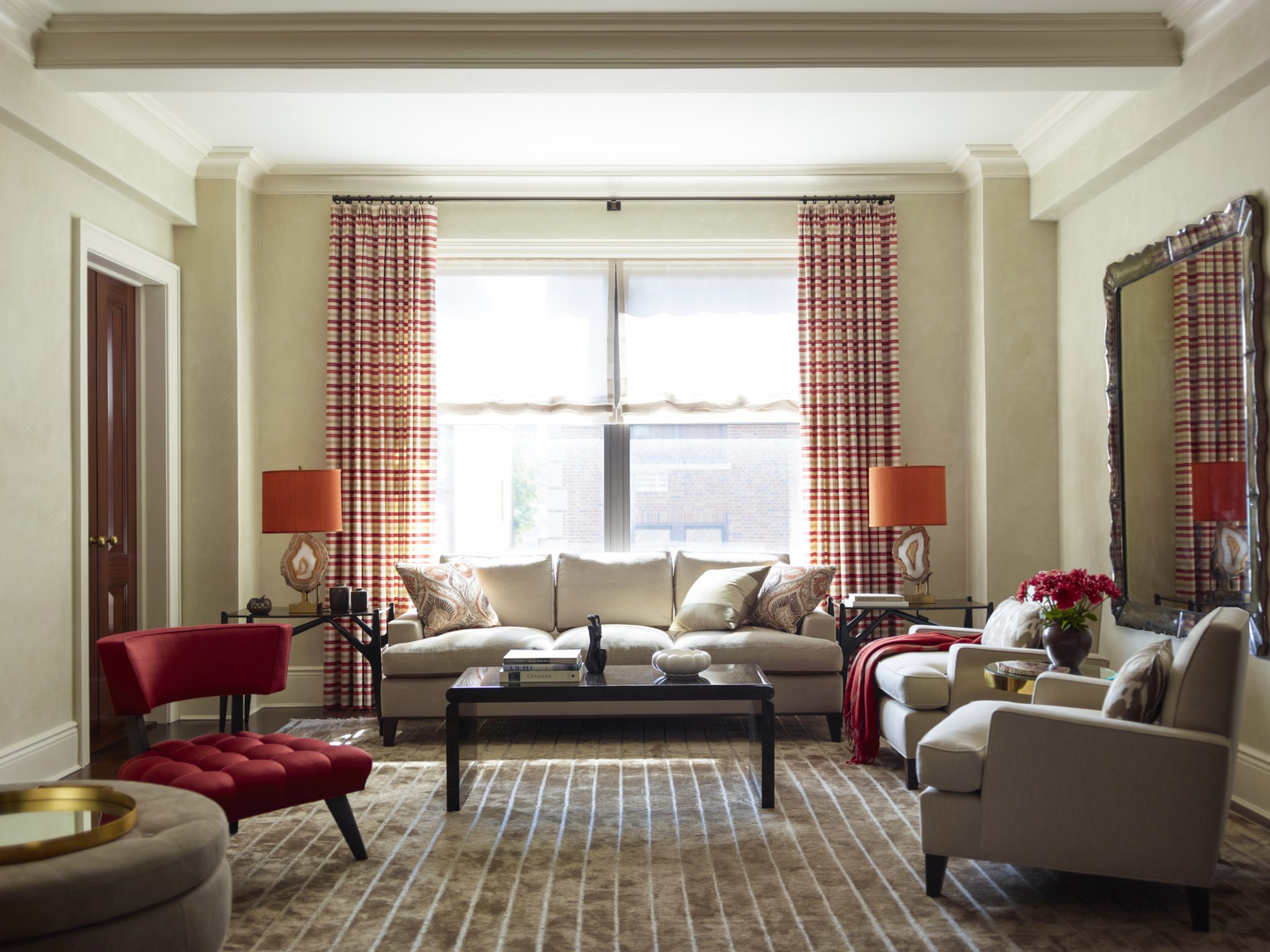 Interior design by Mendelson Group, Inc